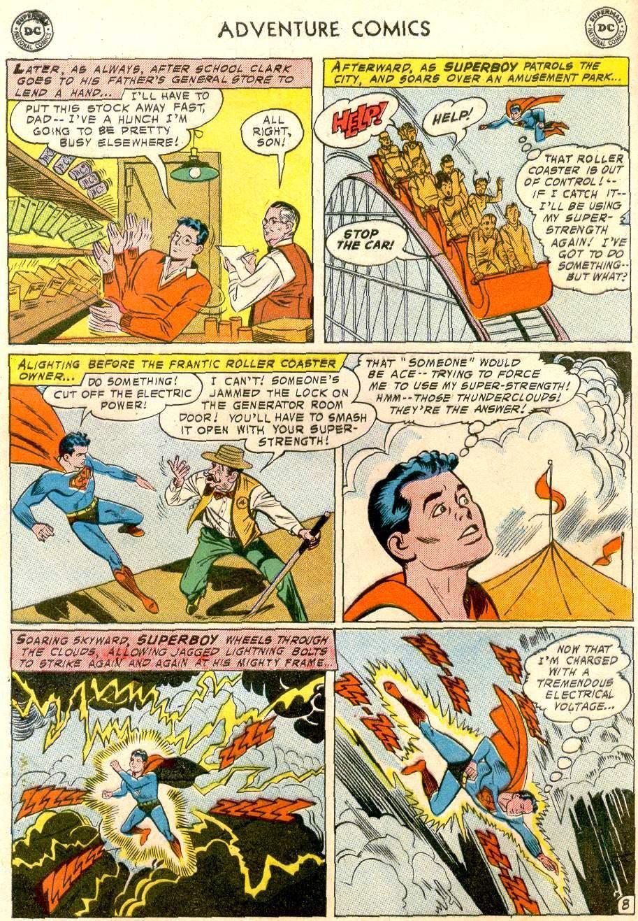 Read online Adventure Comics (1938) comic -  Issue #248 - 10