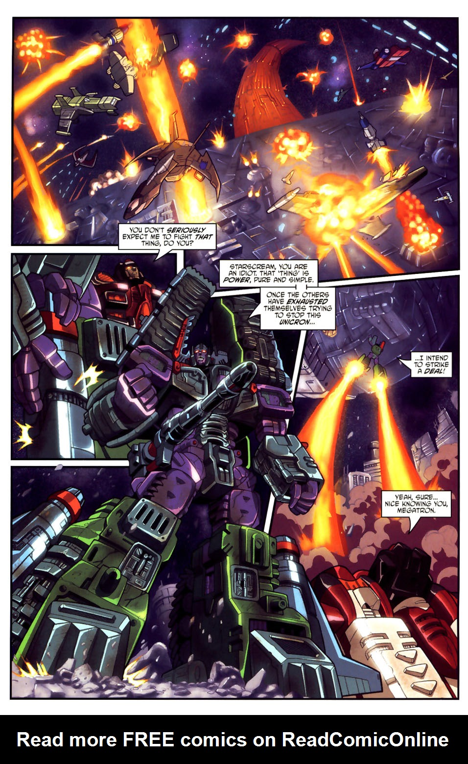 Read online Transformers Armada comic -  Issue #18 - 15