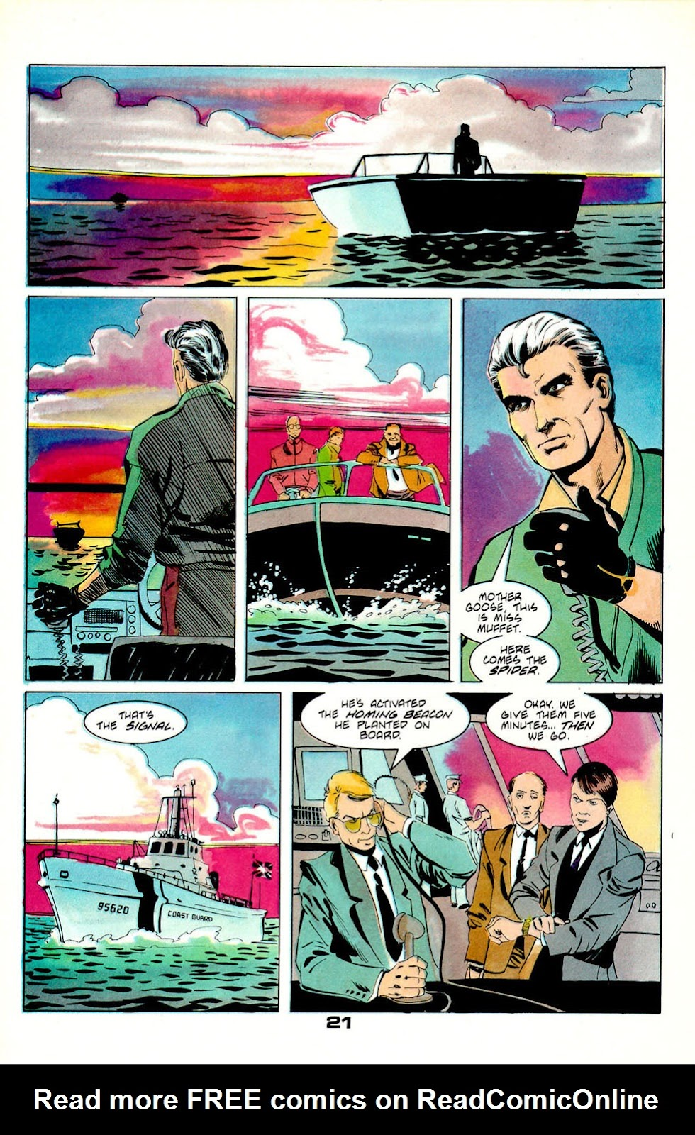 Jon Sable, Freelance issue 56 - Page 22