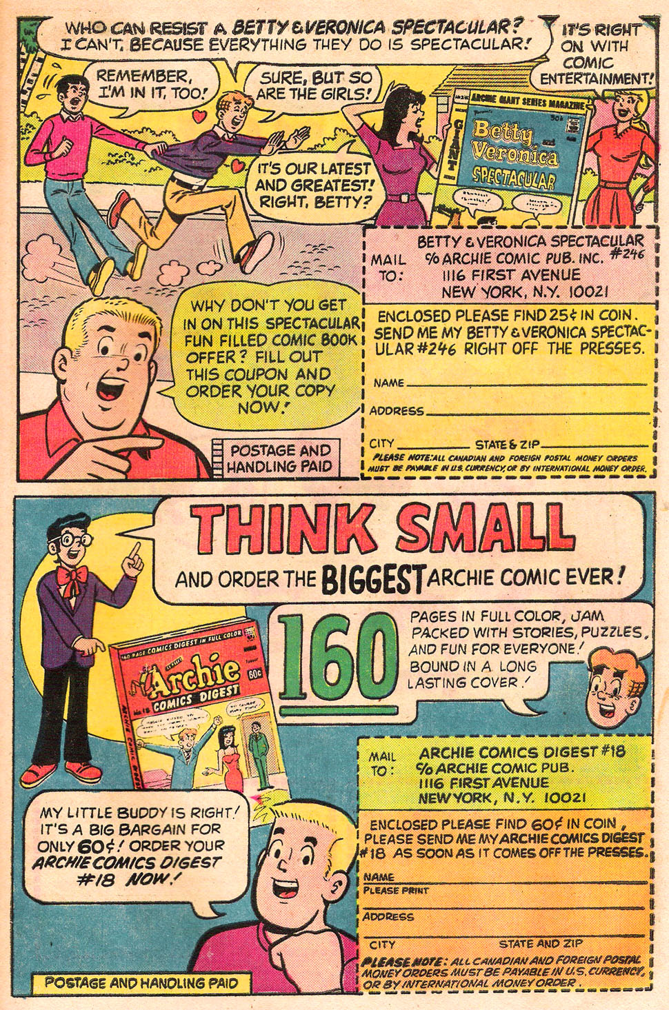 Read online Archie's Girls Betty and Veronica comic -  Issue #245 - 27