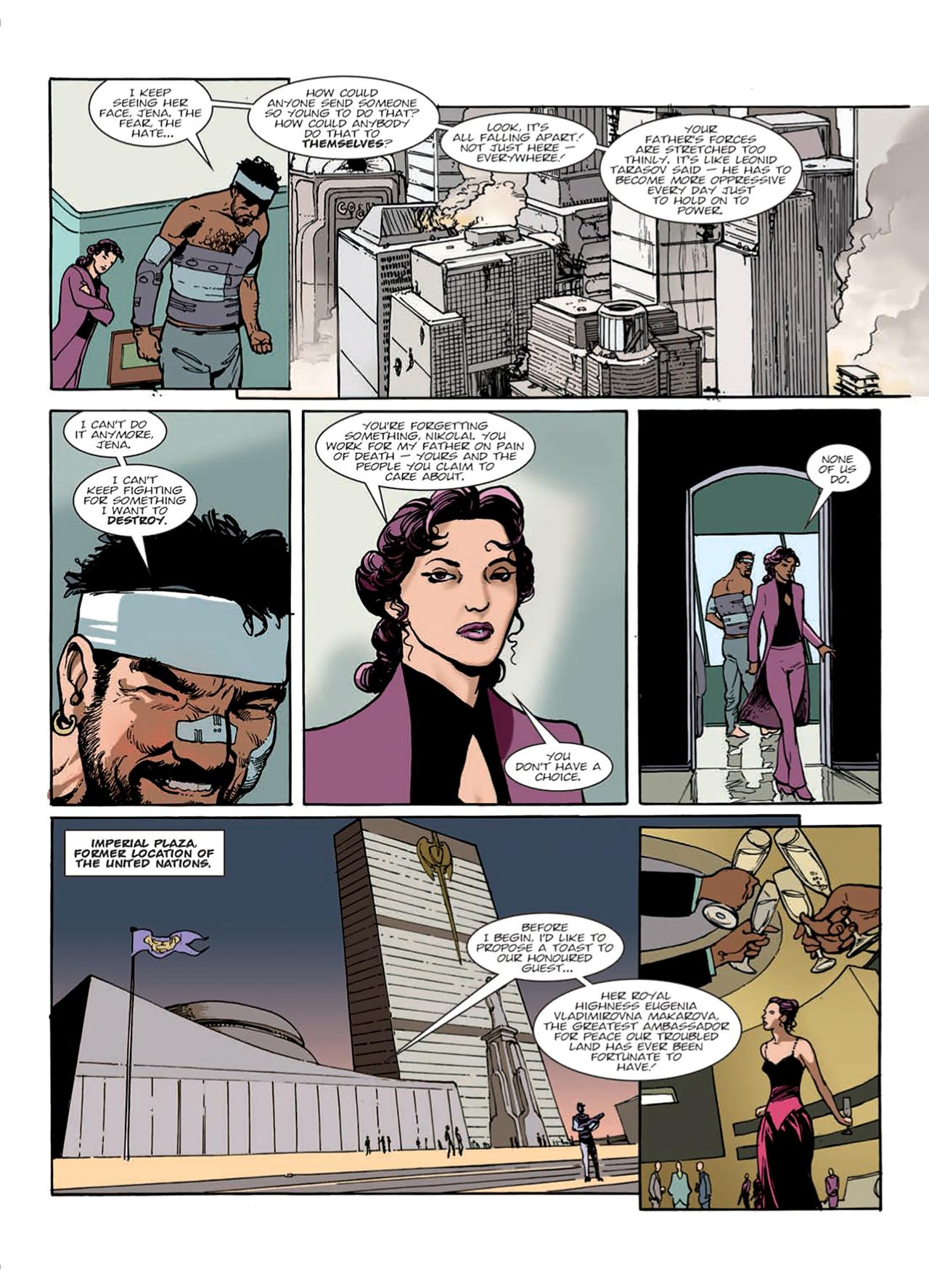 Read online Nikolai Dante comic -  Issue # TPB 9 - 20