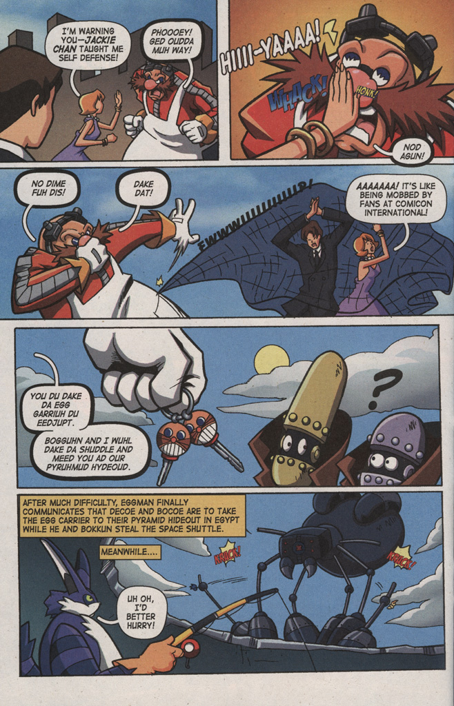 Read online Sonic X comic -  Issue #9 - 24