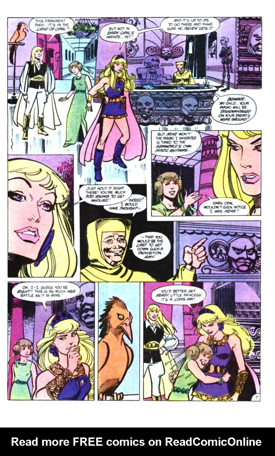 Read online Amethyst, Princess of Gemworld comic -  Issue #10 - 8