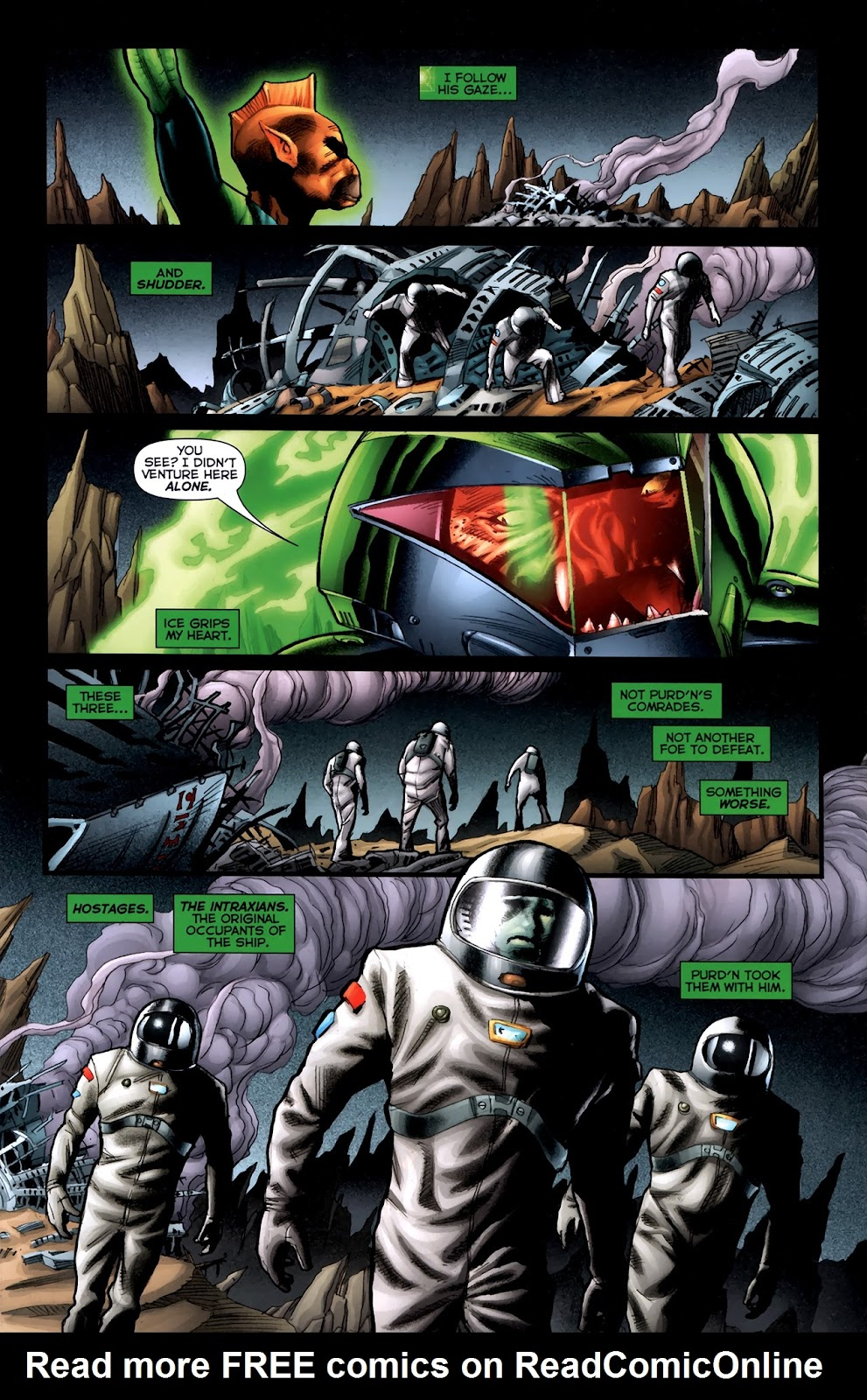 Read online Green Lantern Movie Prequel: Tomar-Re comic -  Issue # Full - 18
