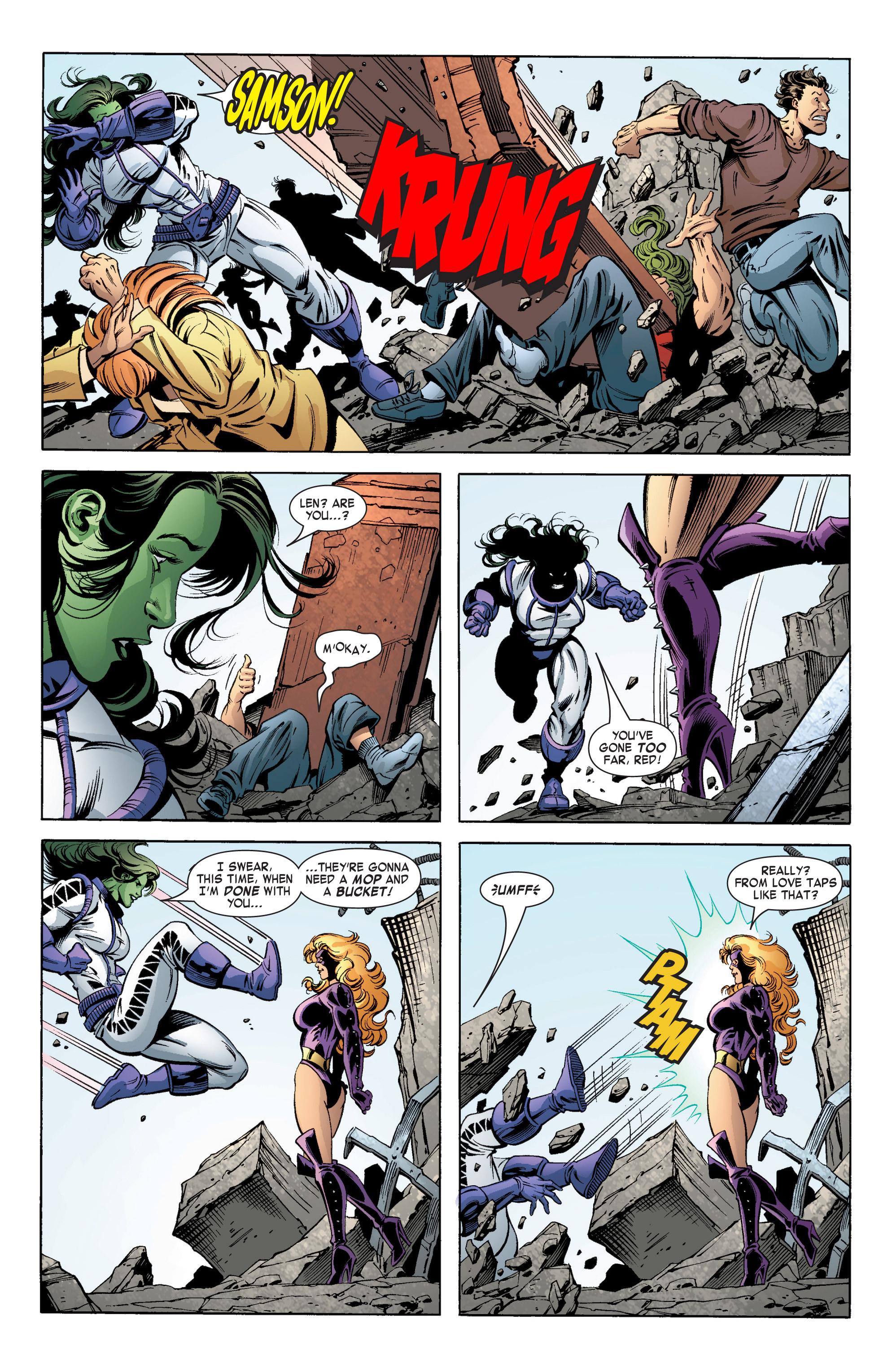 Read online She-Hulk (2004) comic -  Issue #11 - 19
