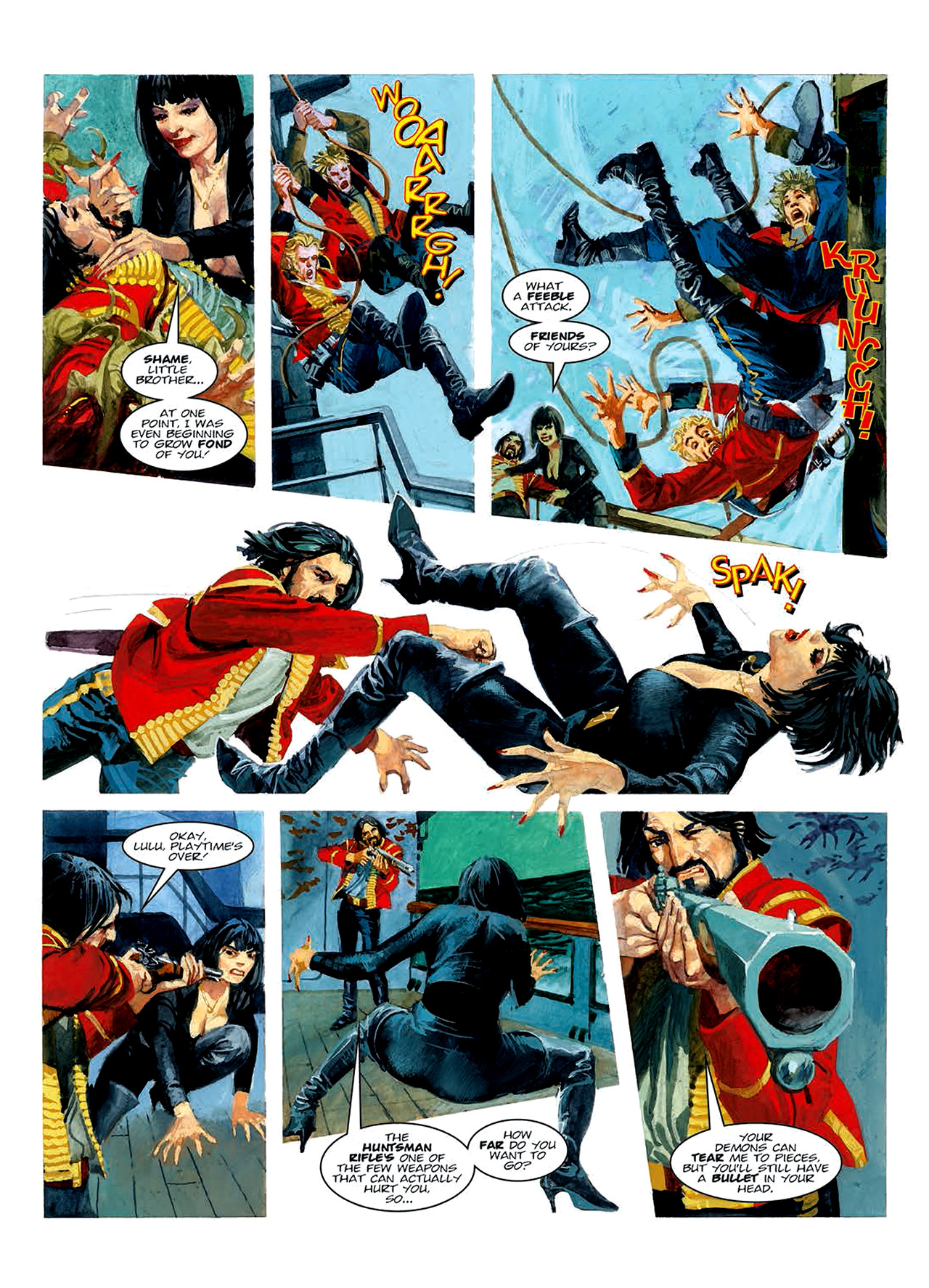 Read online Nikolai Dante comic -  Issue # TPB 6 - 142