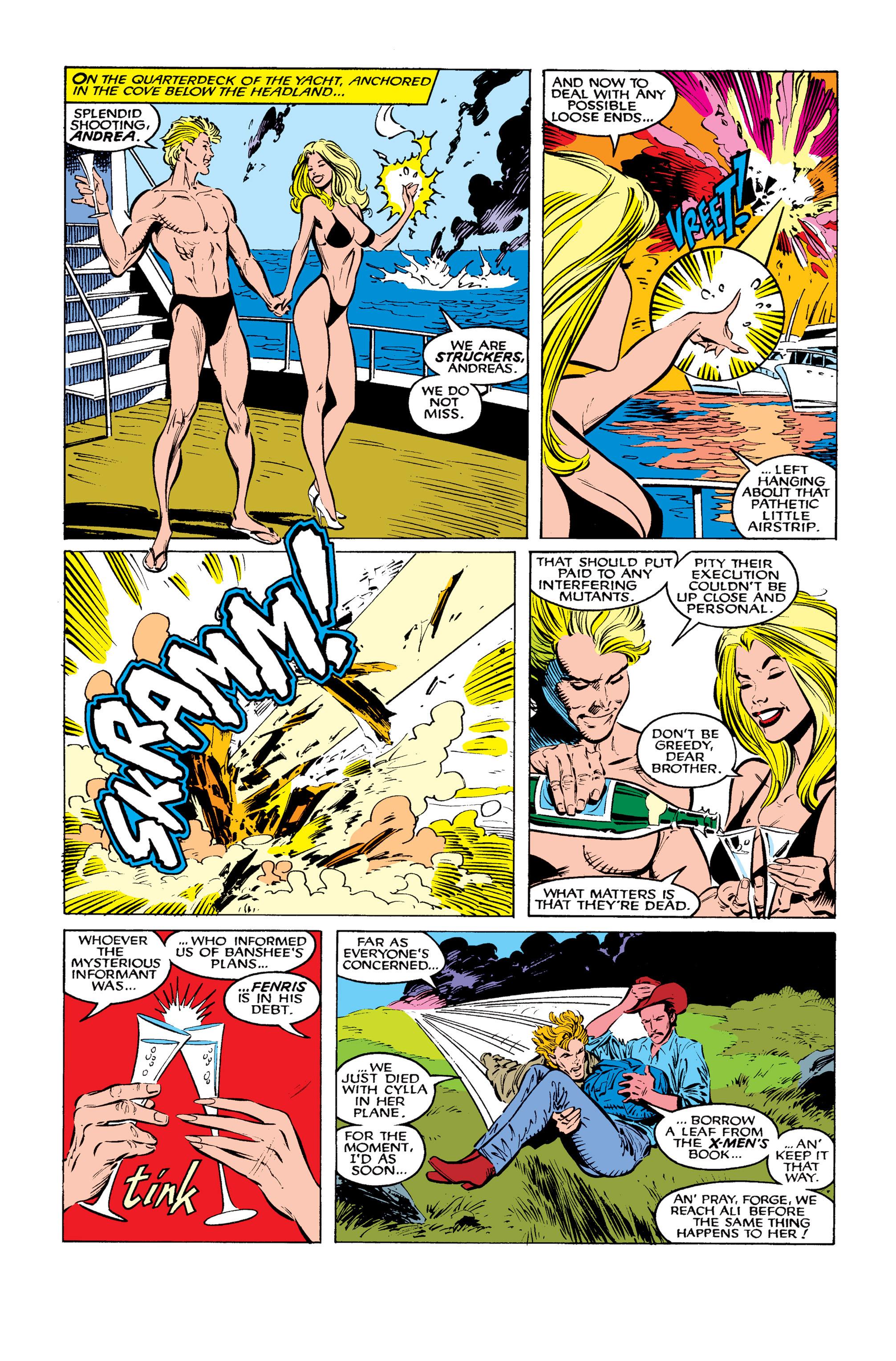 Read online Uncanny X-Men (1963) comic -  Issue #260 - 18