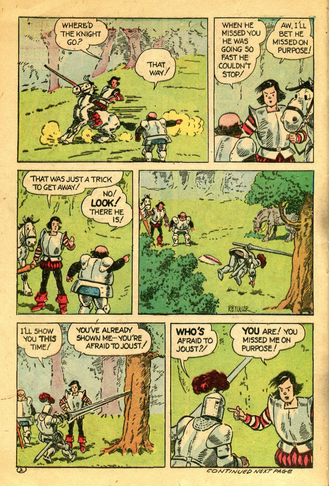 Read online Famous Funnies comic -  Issue #122 - 42