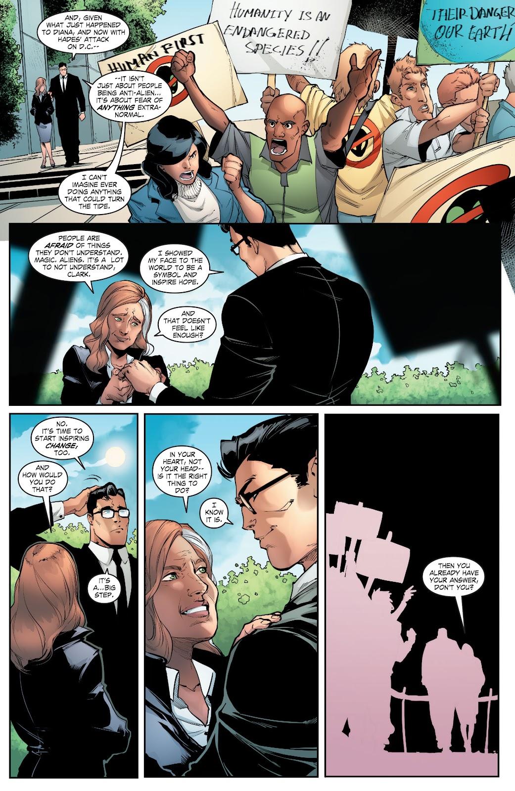 Read online Smallville Season 11 [II] comic -  Issue # TPB 5 - 129