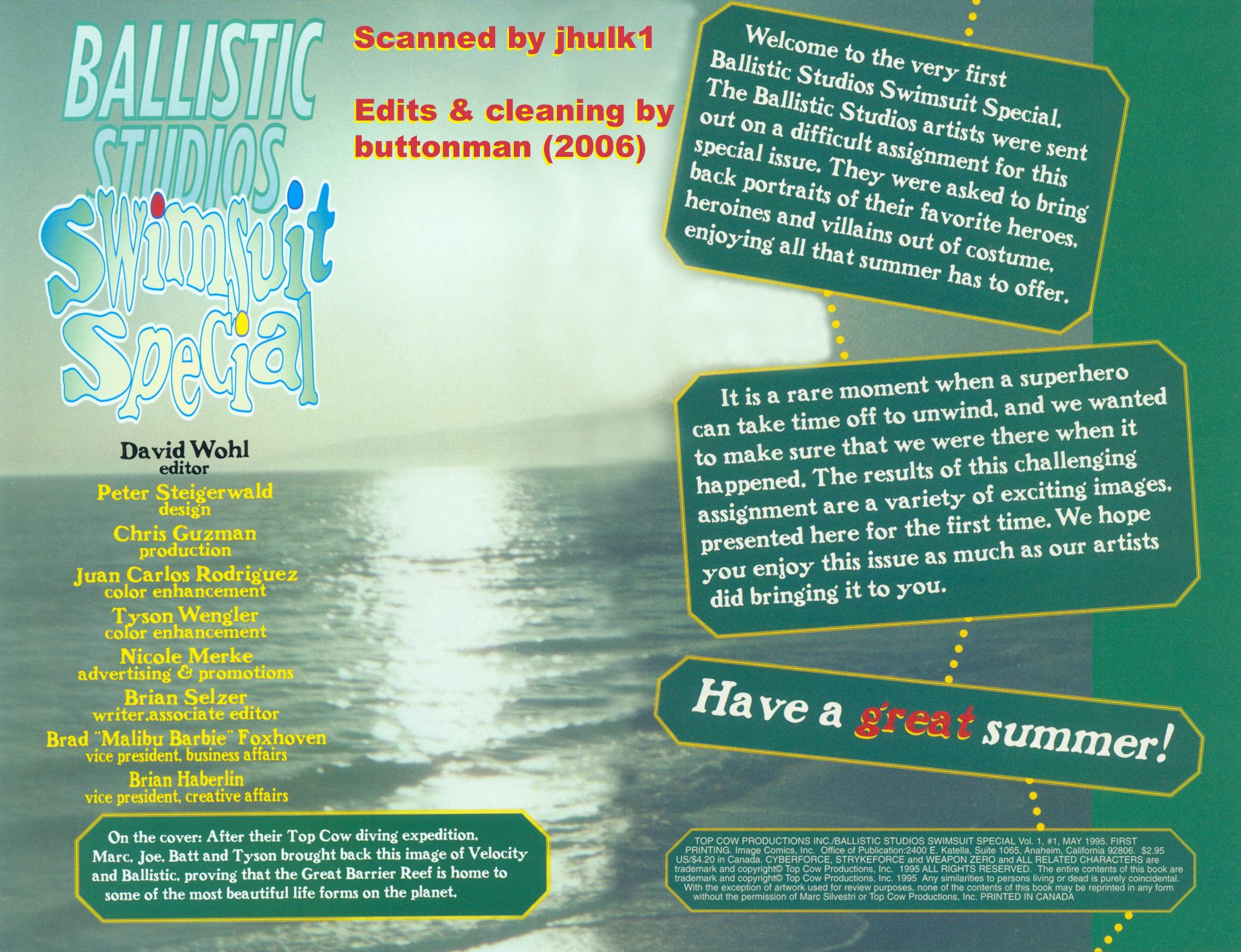 Read online Ballistic Studios Swimsuit Special comic -  Issue #1 - 2