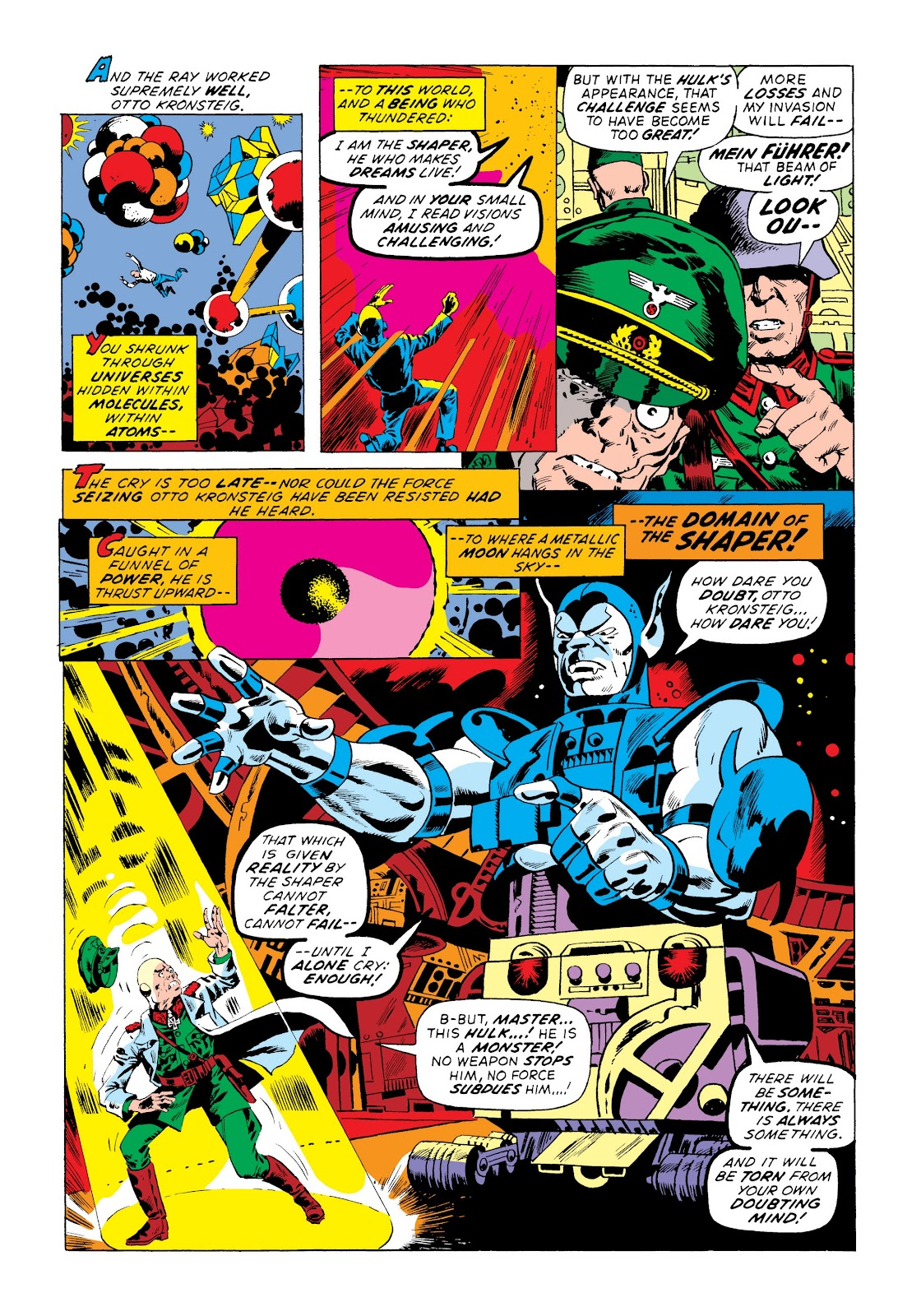 Read online Marvel Masterworks: The Incredible Hulk comic -  Issue # TPB 8 (Part 3) - 52