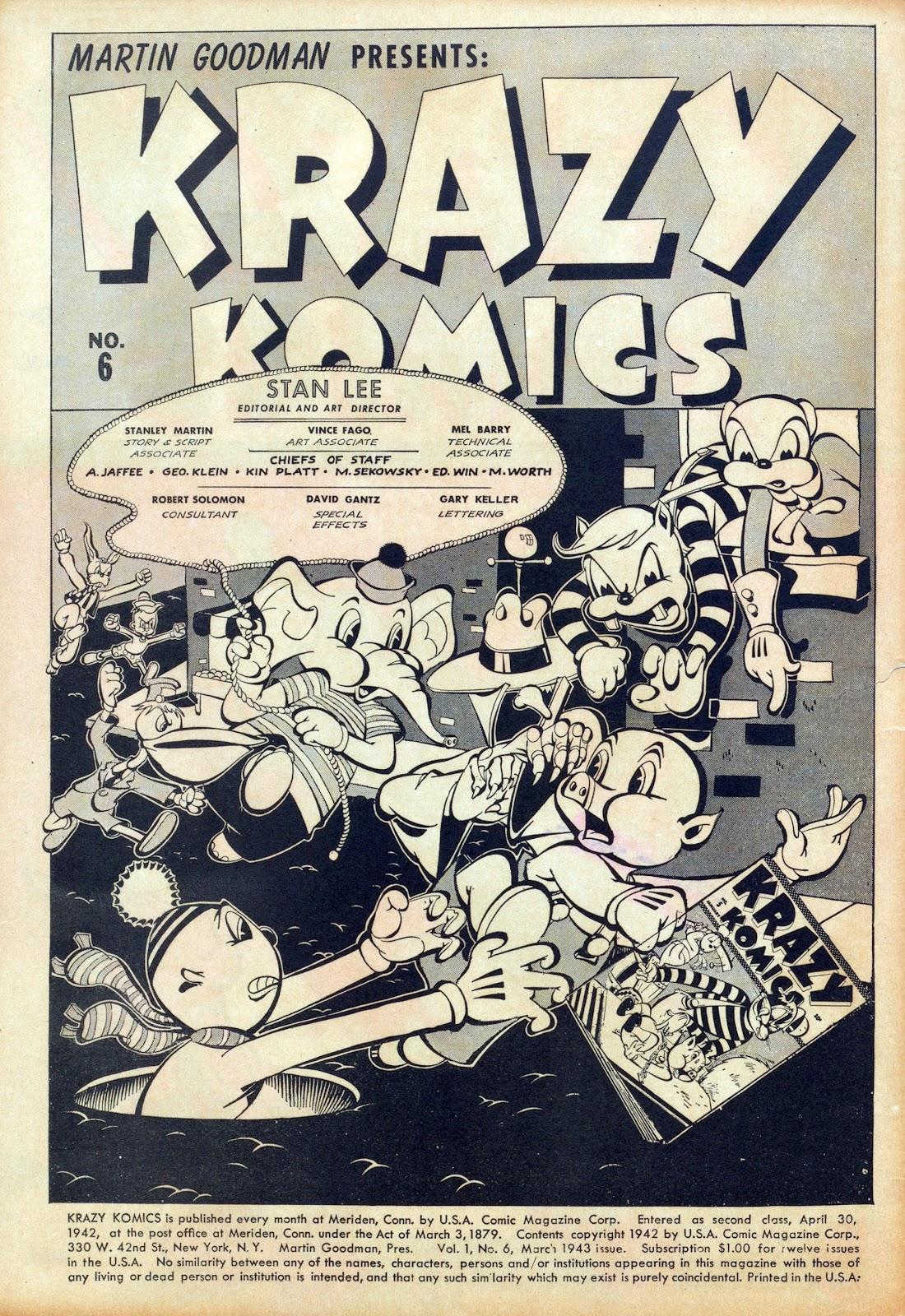 Krazy Komics issue 6 - Page 2