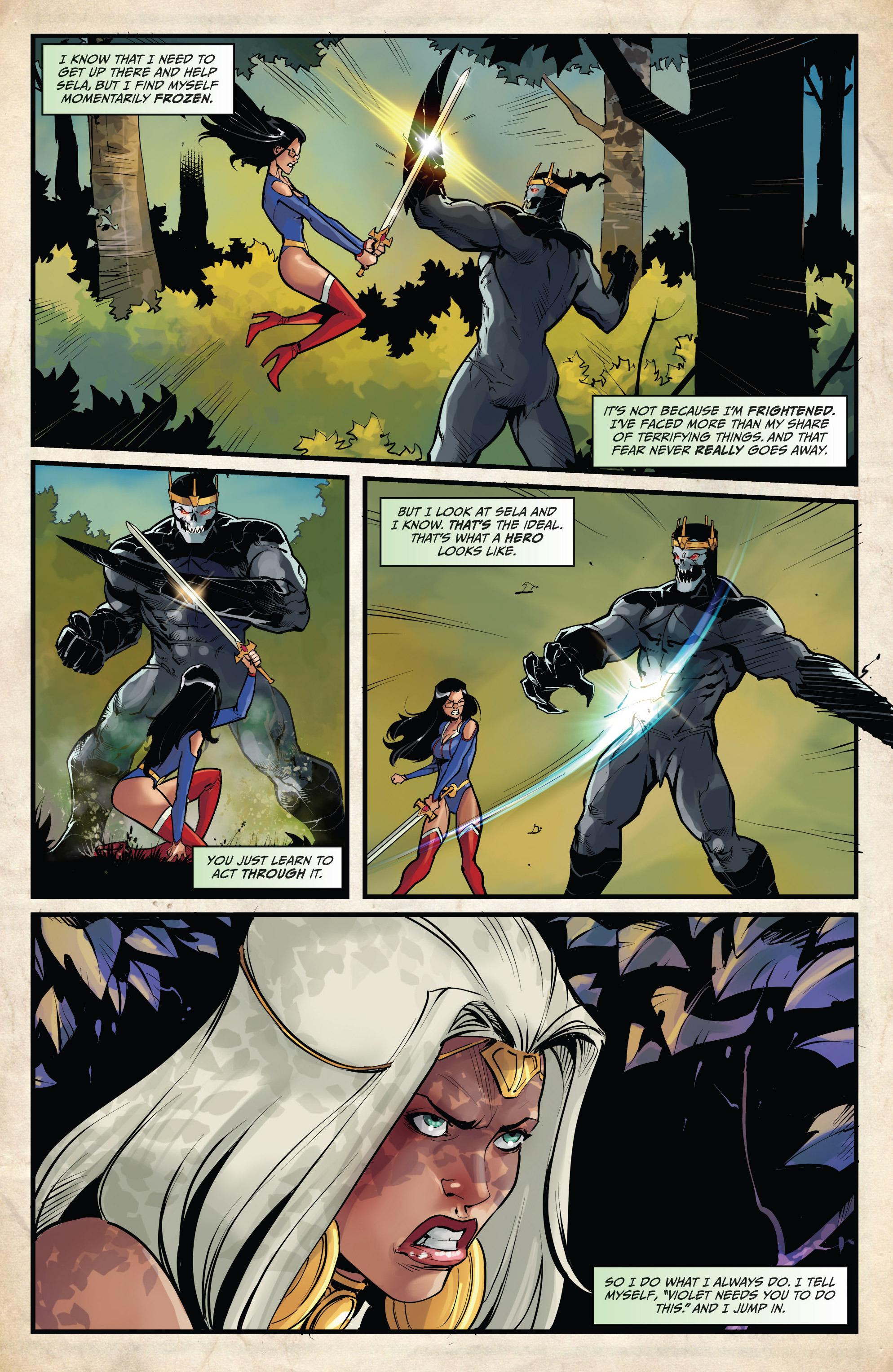 Read online Grimm Fairy Tales vs. Wonderland comic -  Issue #4 - 14