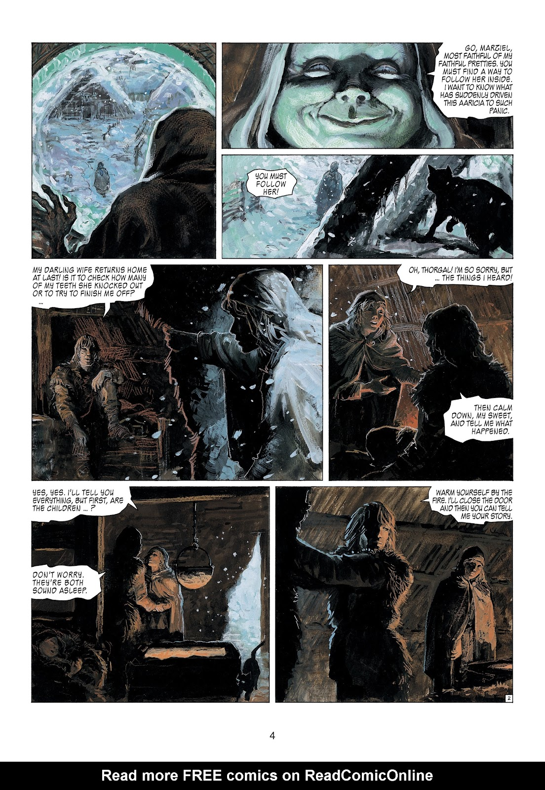 Read online Thorgal comic -  Issue #23 - 6