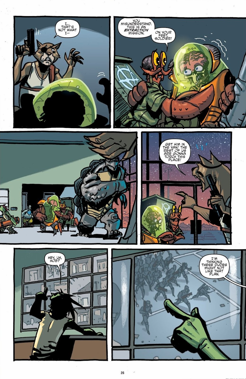 Read online Teenage Mutant Ninja Turtles: The IDW Collection comic -  Issue # TPB 6 (Part 1) - 25
