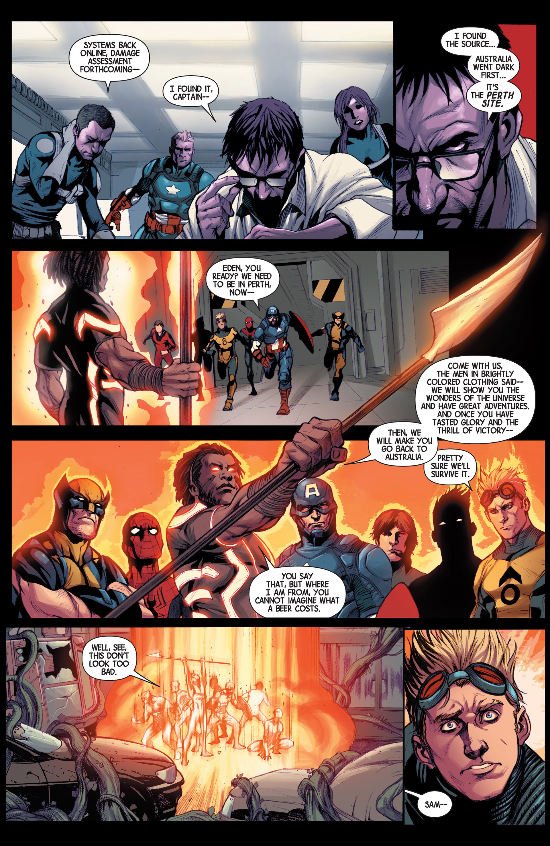 Read online Avengers (2013) comic -  Issue #14 - 20