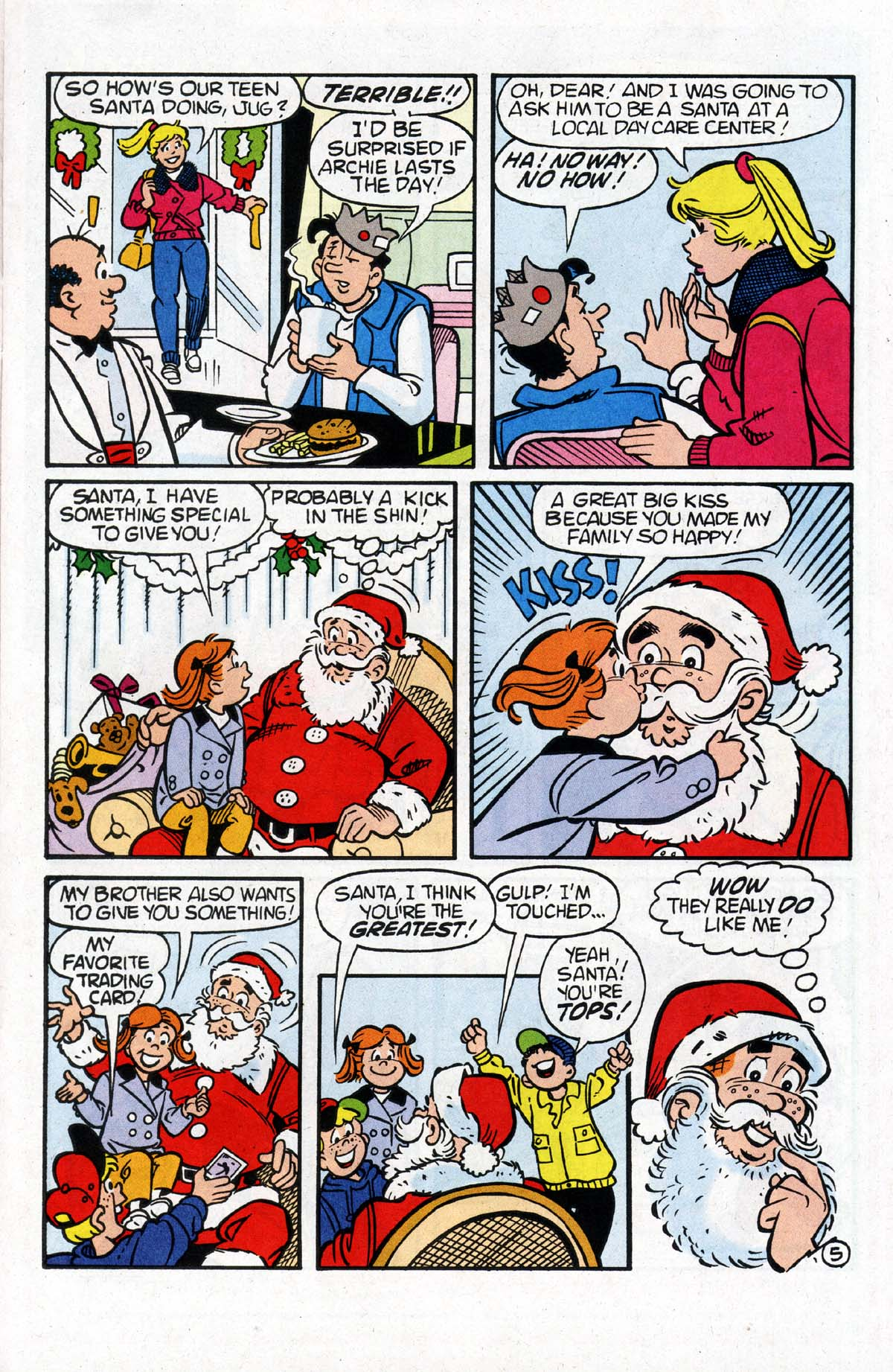 Read online Archie (1960) comic -  Issue #530 - 6