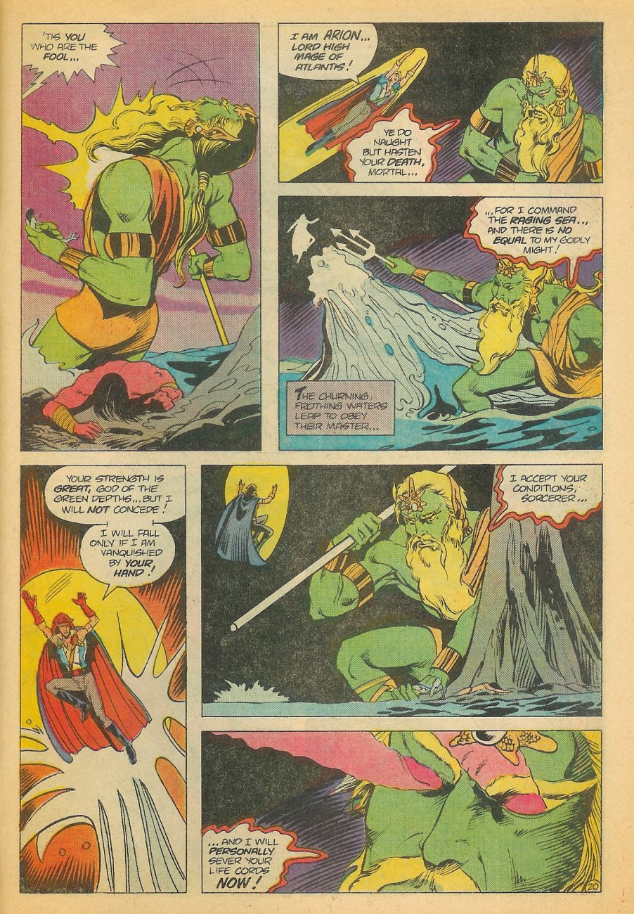 Read online Arion, Lord of Atlantis comic -  Issue #21 - 21