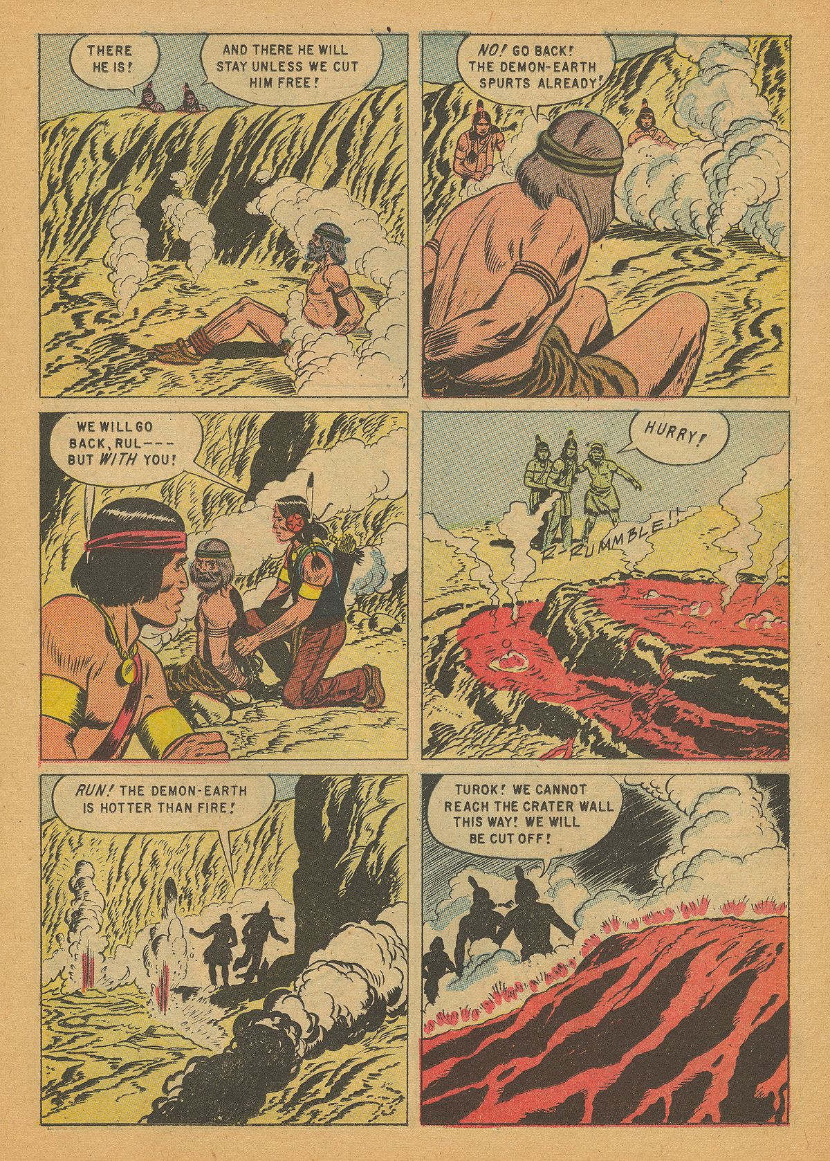 Read online Turok, Son of Stone comic -  Issue #14 - 11