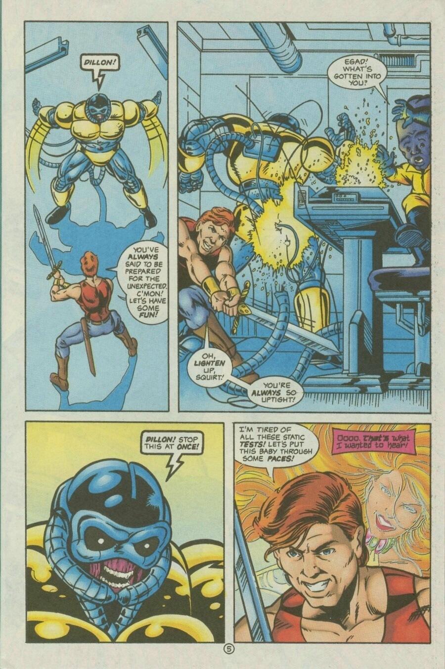 Read online Ex-Mutants comic -  Issue #10 - 7