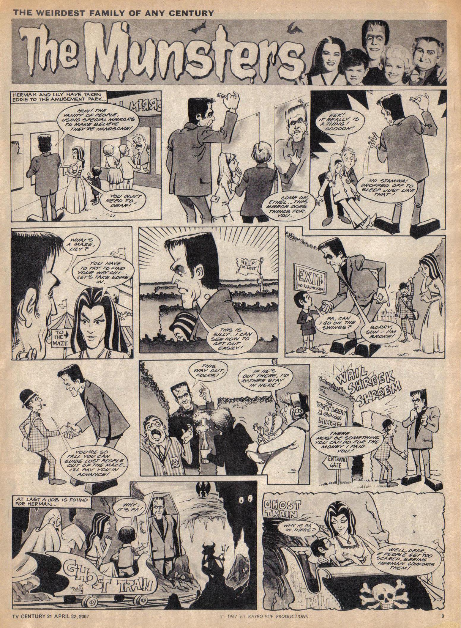 Read online TV Century 21 (TV 21) comic -  Issue #118 - 9