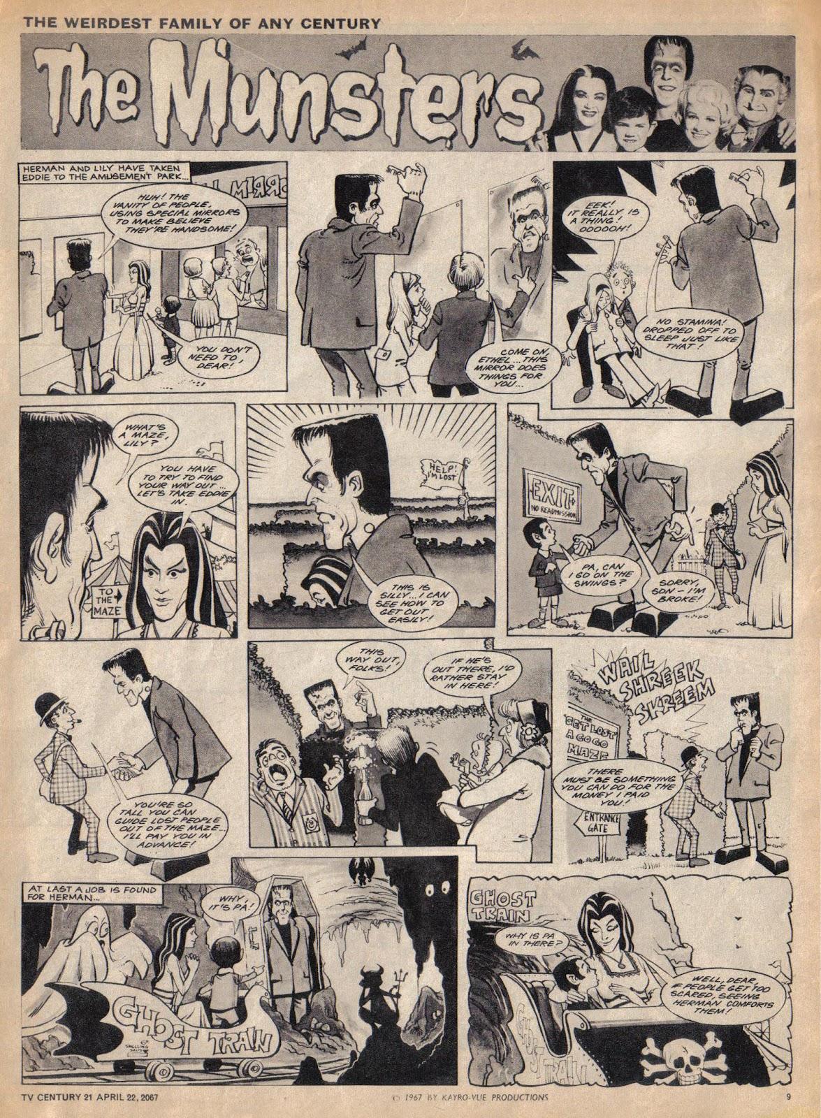 TV Century 21 (TV 21) issue 118 - Page 9