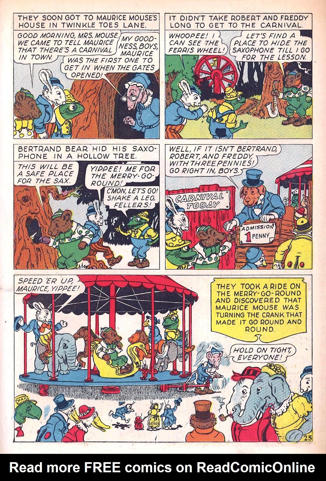 Read online Animal Comics comic -  Issue #4 - 28