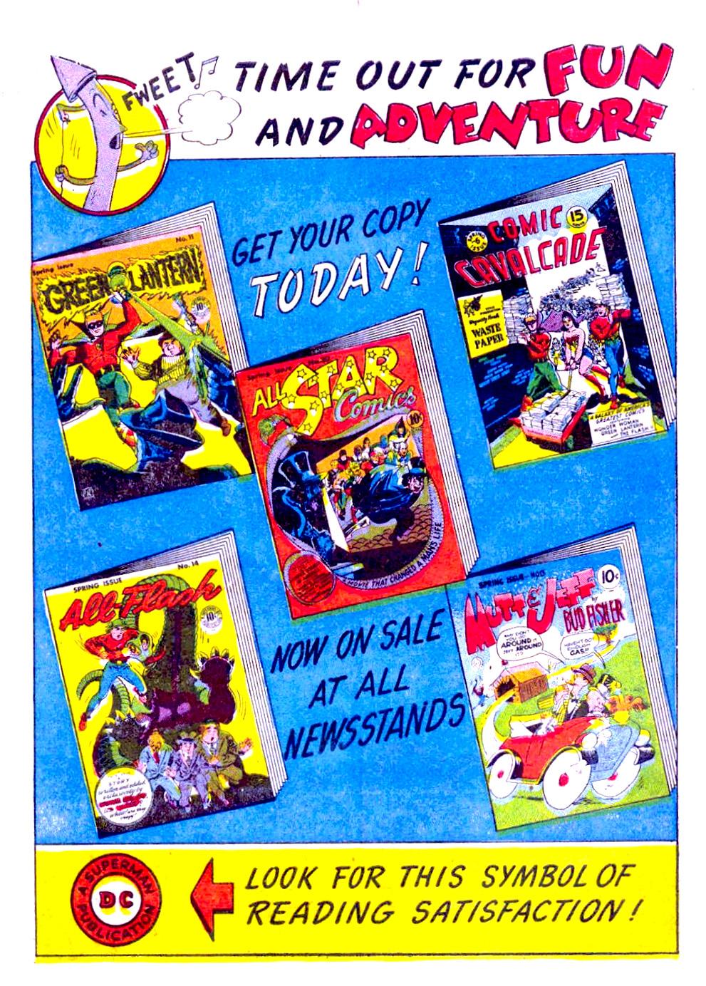 Read online Sensation (Mystery) Comics comic -  Issue #29 - 16