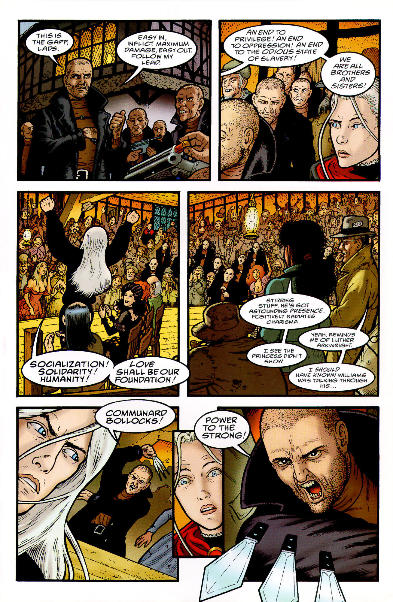 Read online Heart of Empire comic -  Issue #4 - 11