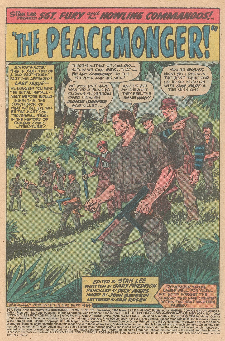 Read online Sgt. Fury comic -  Issue #161 - 3