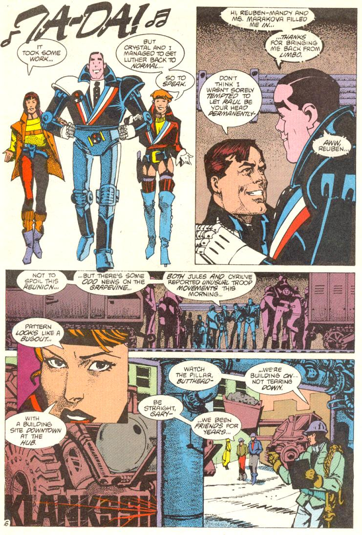 Read online American Flagg! comic -  Issue #12 - 7