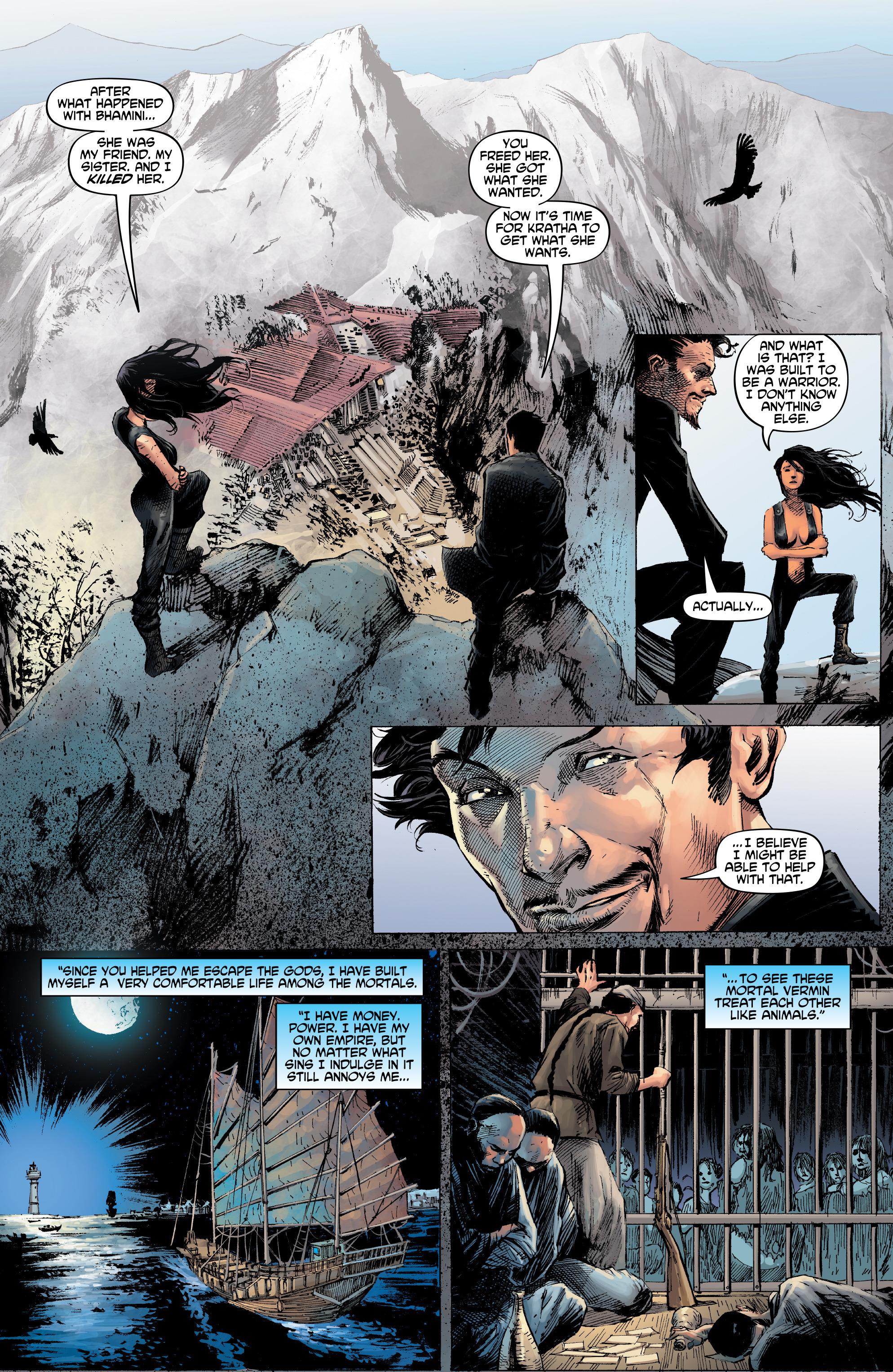 Read online Shekhar Kapur's Devi: Rebirth comic -  Issue #5 - 28