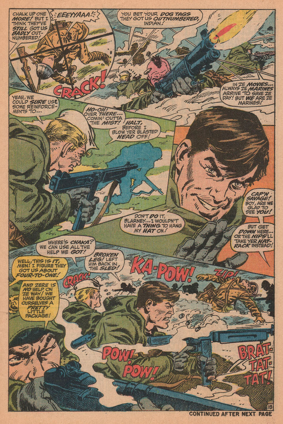 Captain Savage and his Leatherneck Raiders issue 16 - Page 25