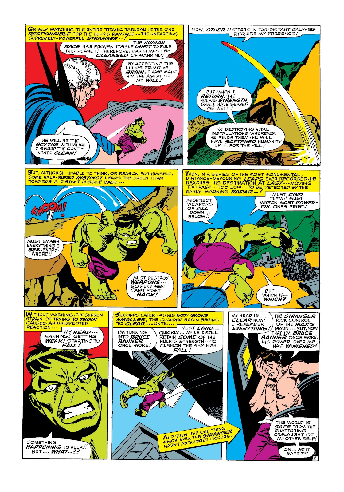 Read online Marvel Masterworks: The Incredible Hulk comic -  Issue # TPB 3 (Part 2) - 19