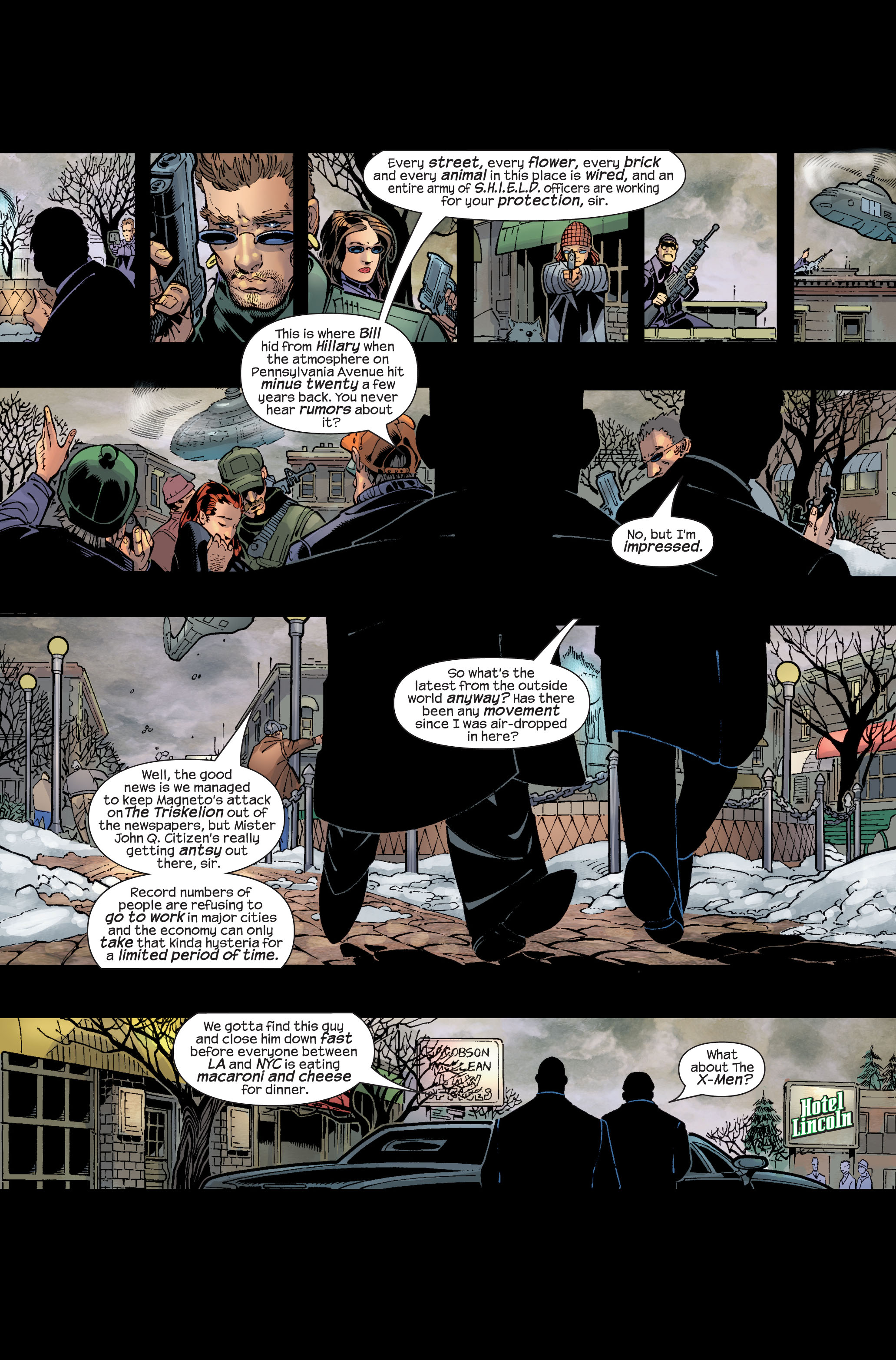 Read online Ultimate War comic -  Issue #3 - 7