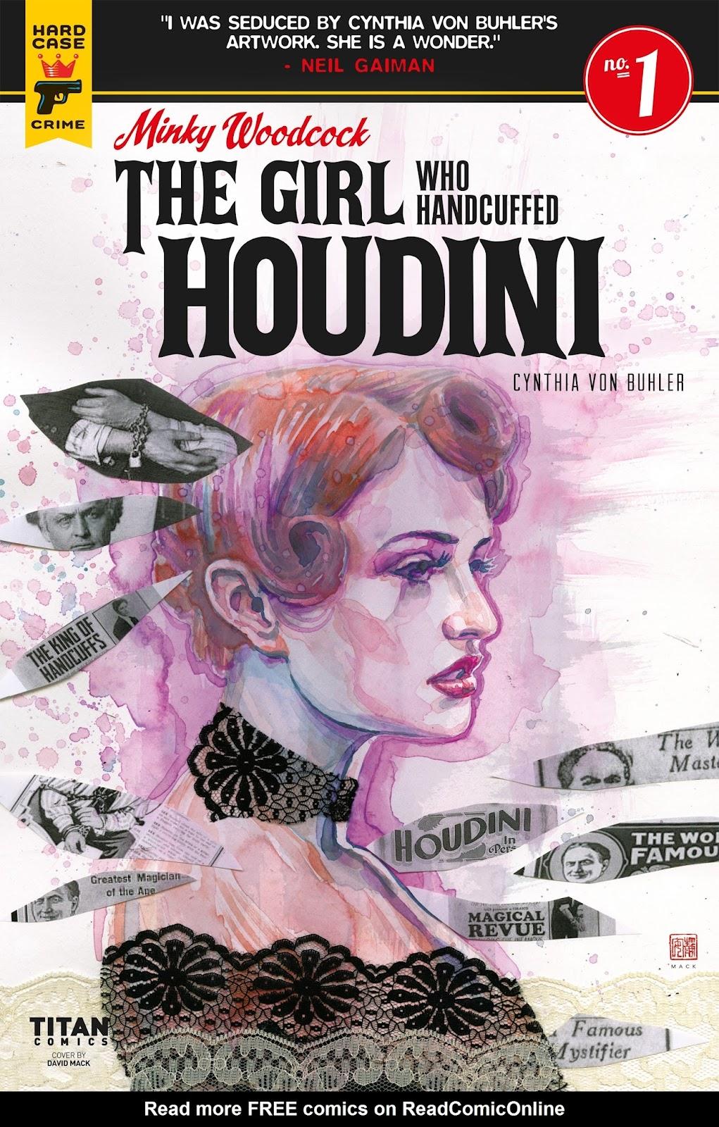 Minky Woodcock: The Girl who Handcuffed Houdini issue 1 - Page 1