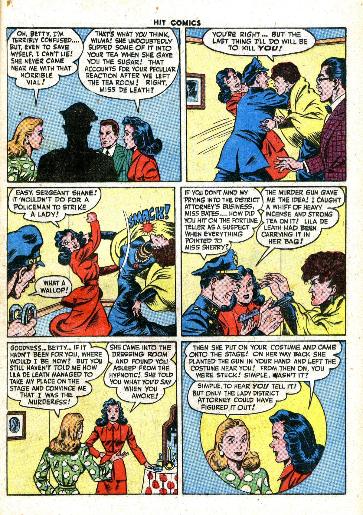 Read online Hit Comics comic -  Issue #41 - 37