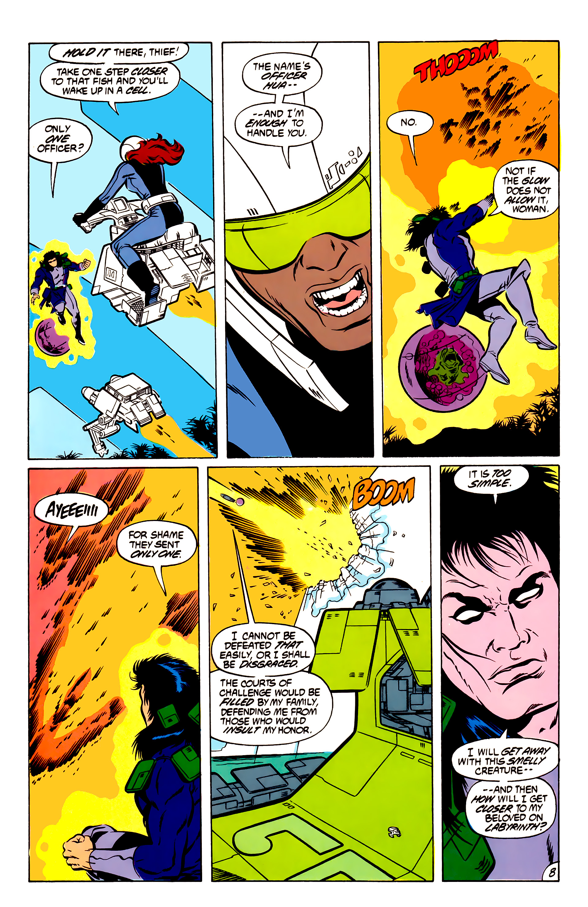 Legion of Super-Heroes (1984) 51 Page 8