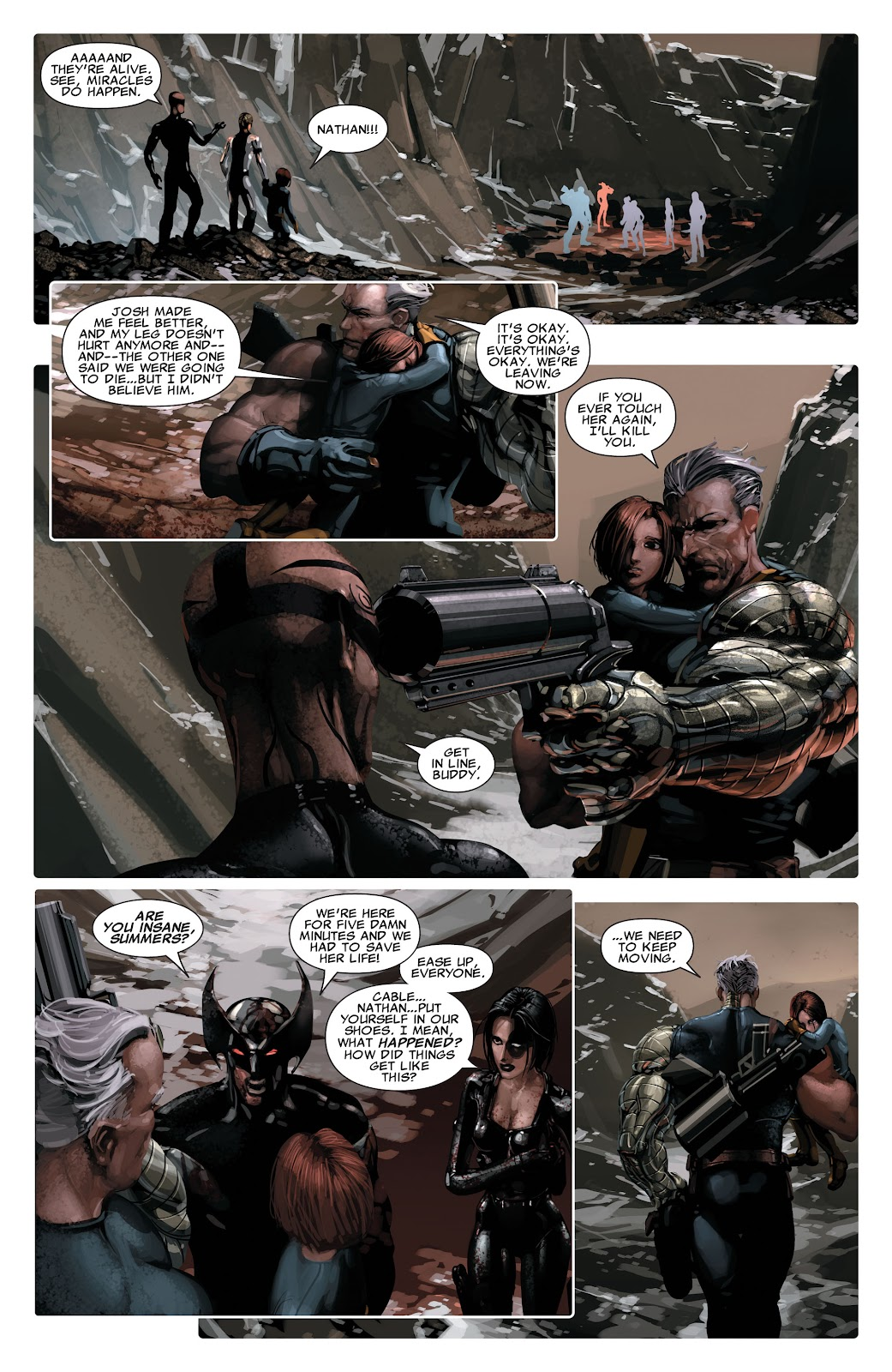 Read online X-Force/Cable: Messiah War comic -  Issue # _TPB (Part 2) - 26