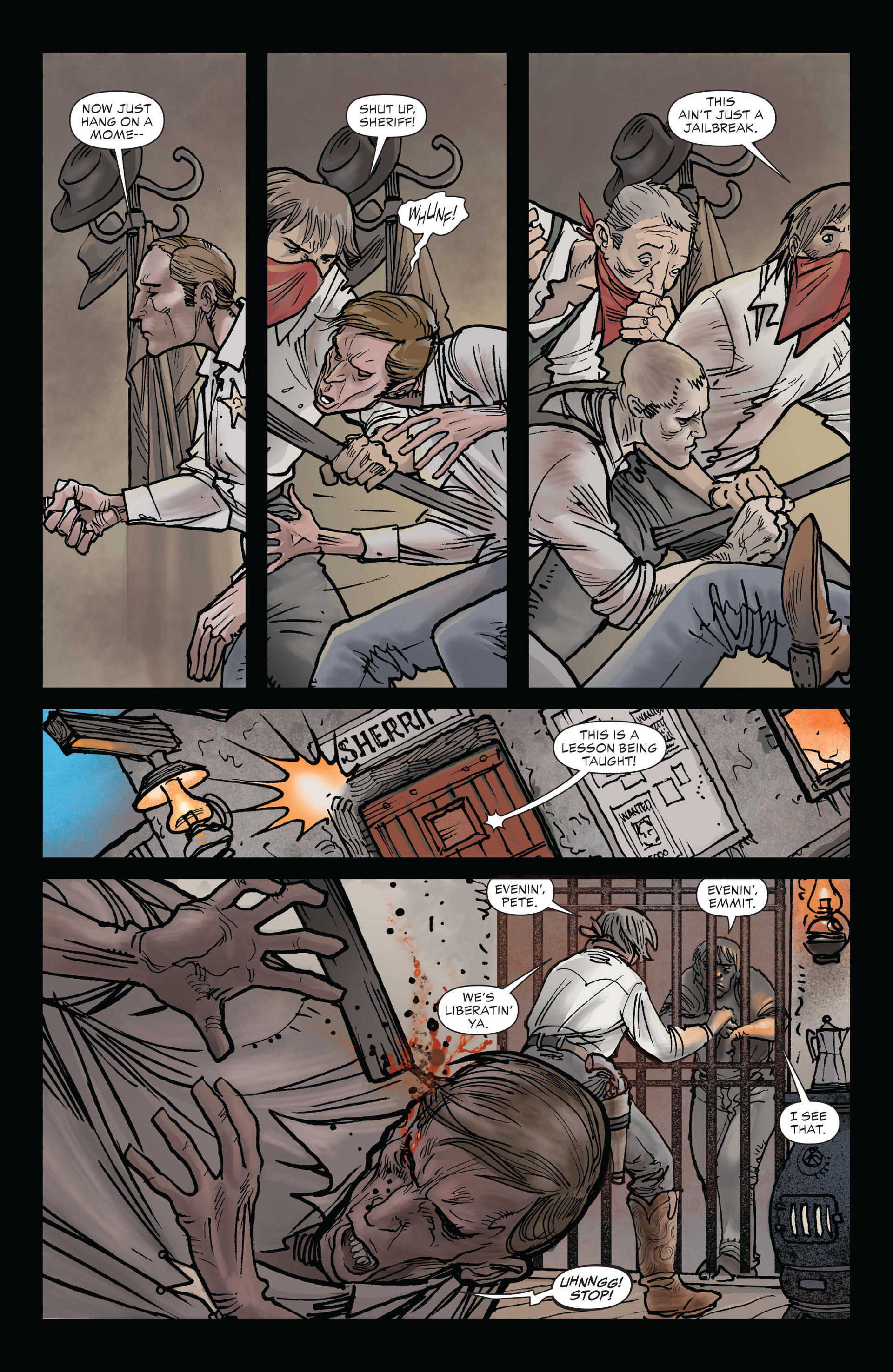 Read online All-Star Western (2011) comic -  Issue #19 - 16