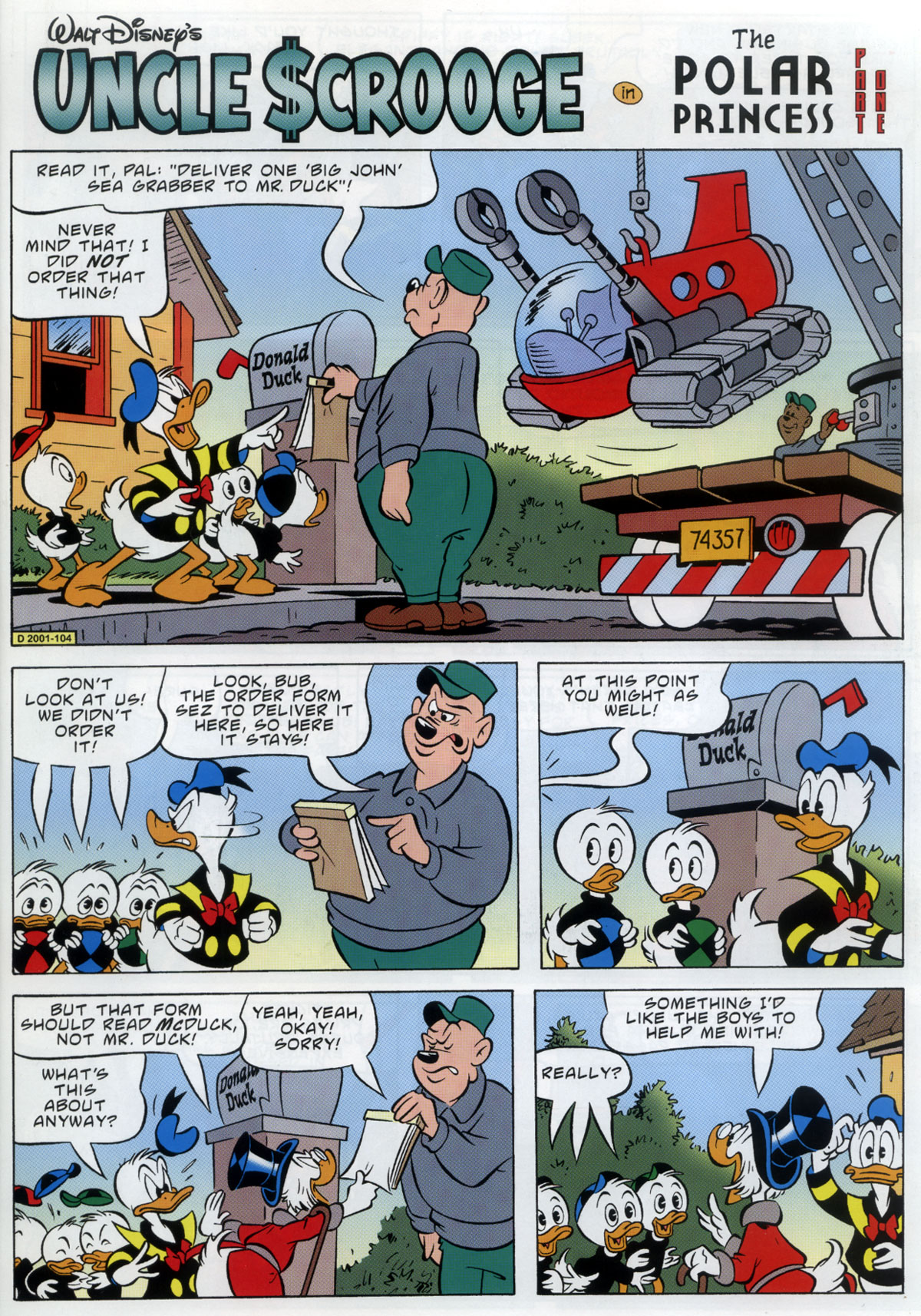 Read online Uncle Scrooge (1953) comic -  Issue #333 - 3