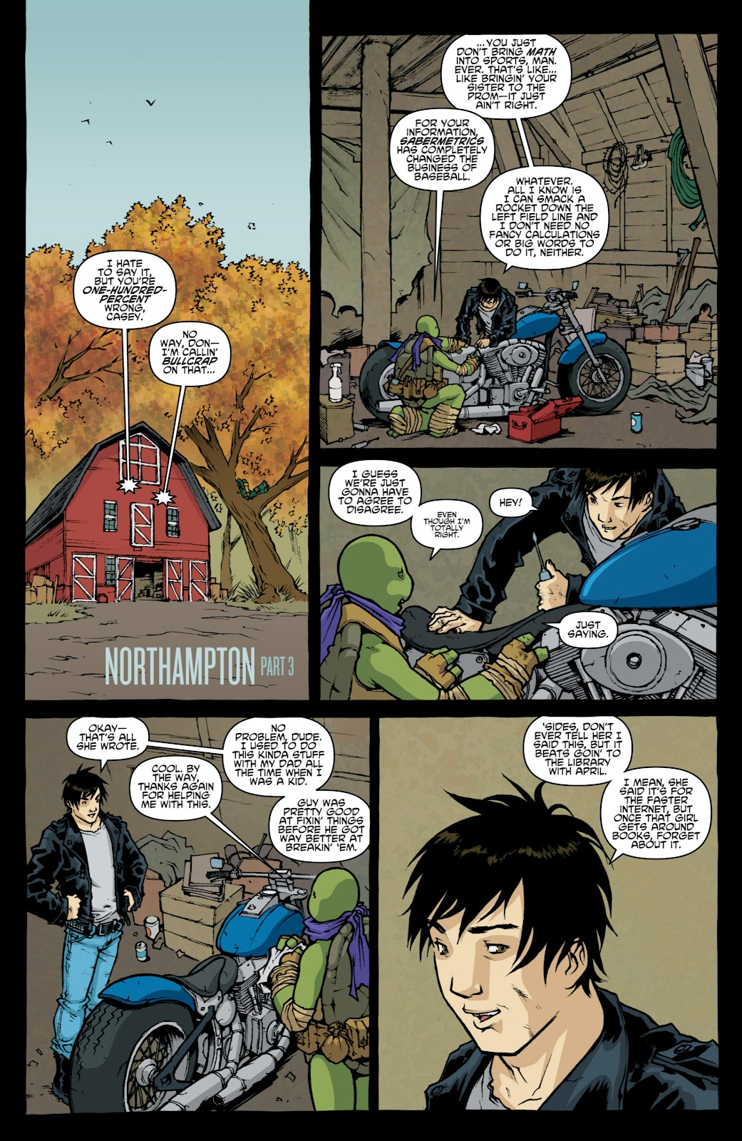 Read online Teenage Mutant Ninja Turtles: The IDW Collection comic -  Issue # TPB 4 (Part 1) - 99