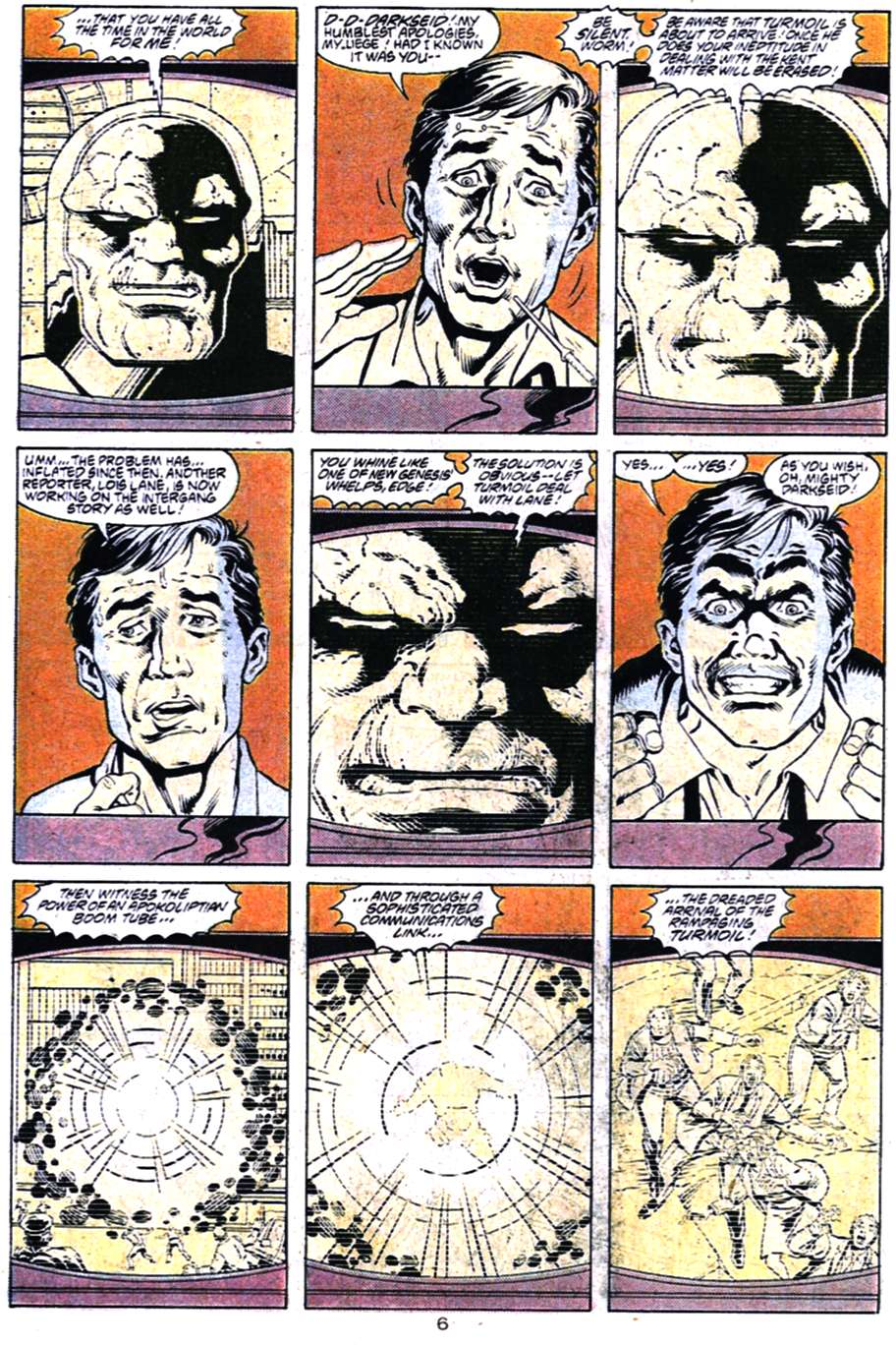 Read online Adventures of Superman (1987) comic -  Issue #456 - 6