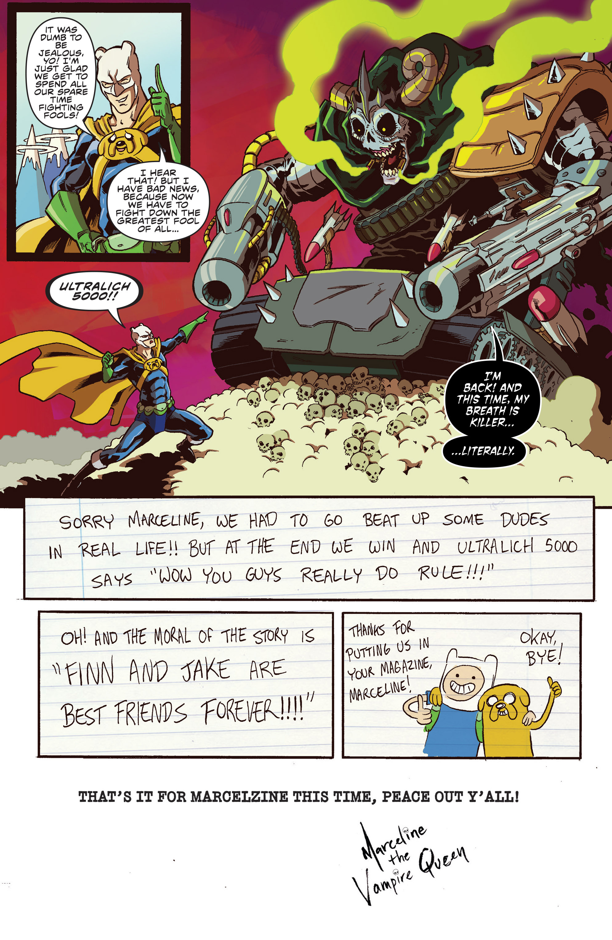 Read online Adventure Time comic -  Issue #30 - 22