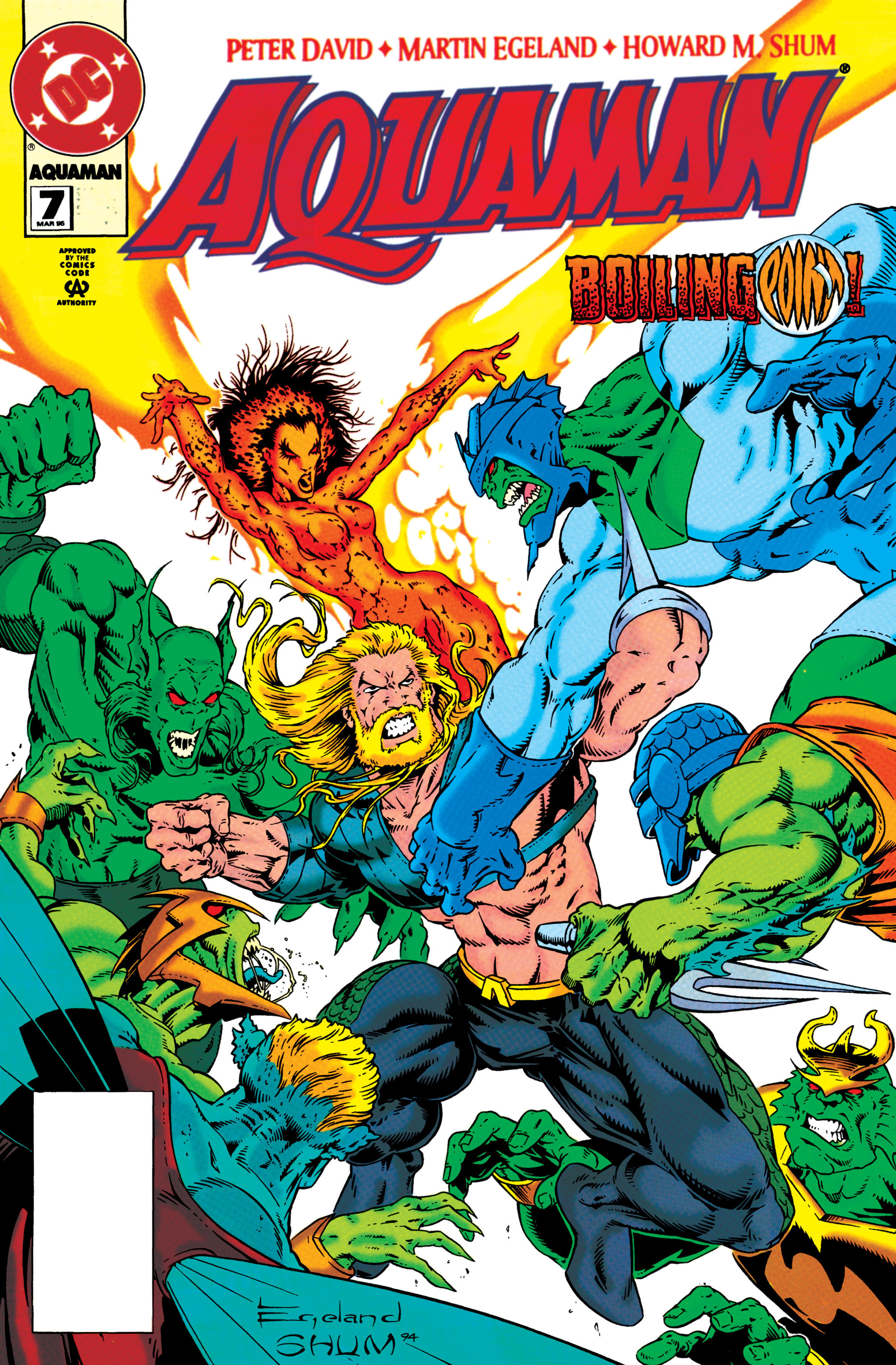 Read online Aquaman (1994) comic -  Issue #7 - 1