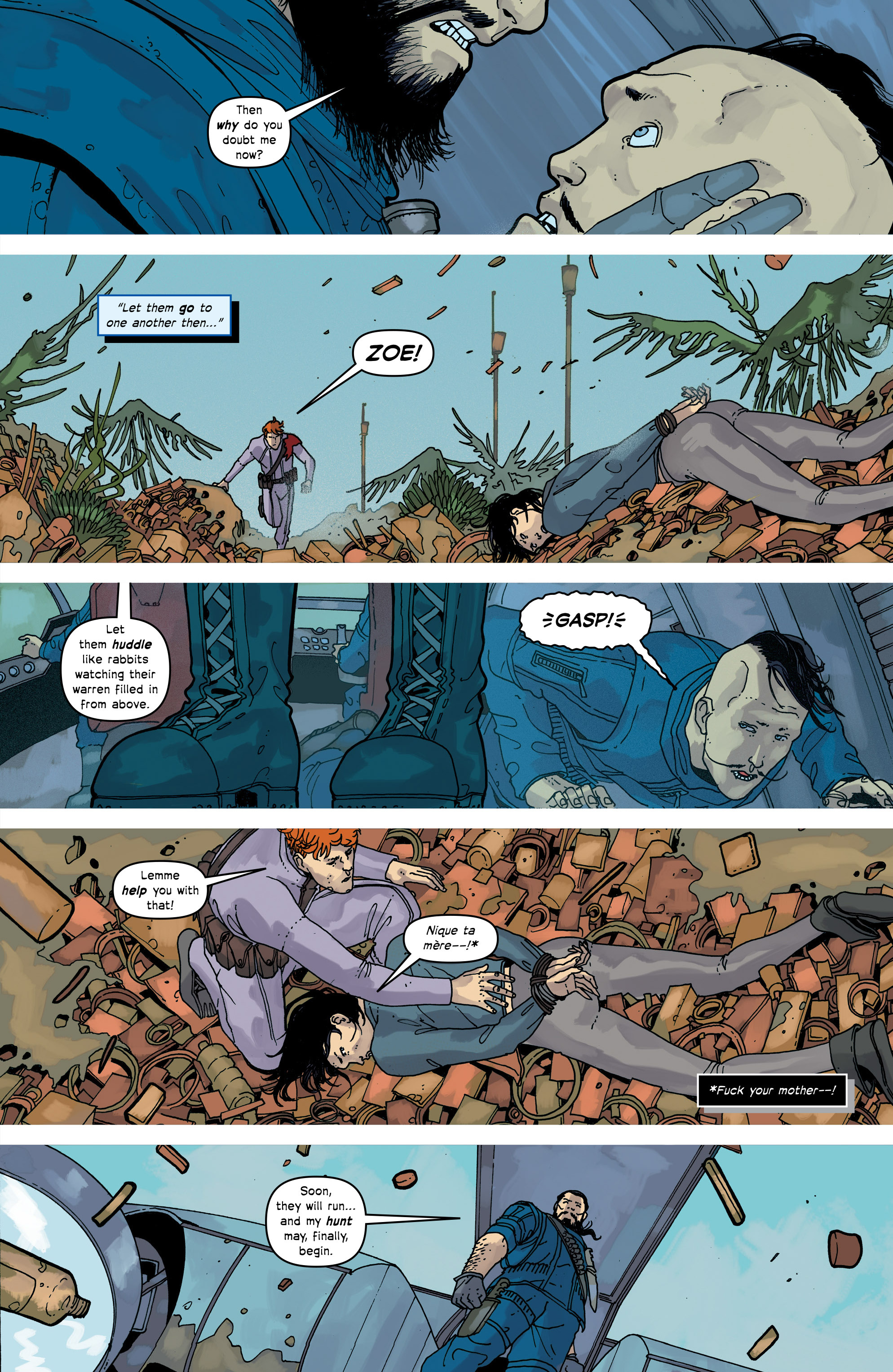 Read online Great Pacific comic -  Issue #17 - 21