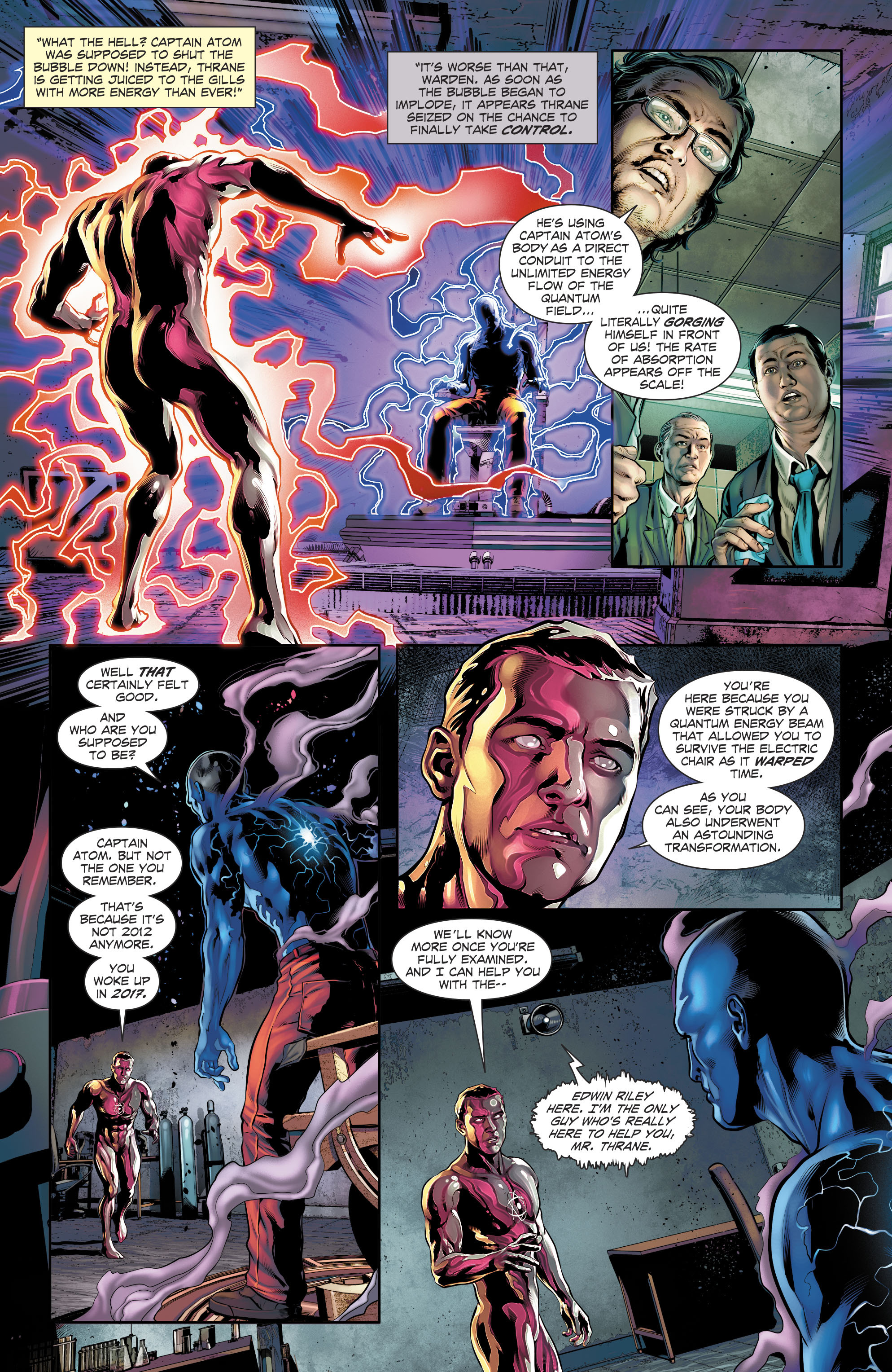Read online The Fall and Rise of Captain Atom comic -  Issue #4 - 17
