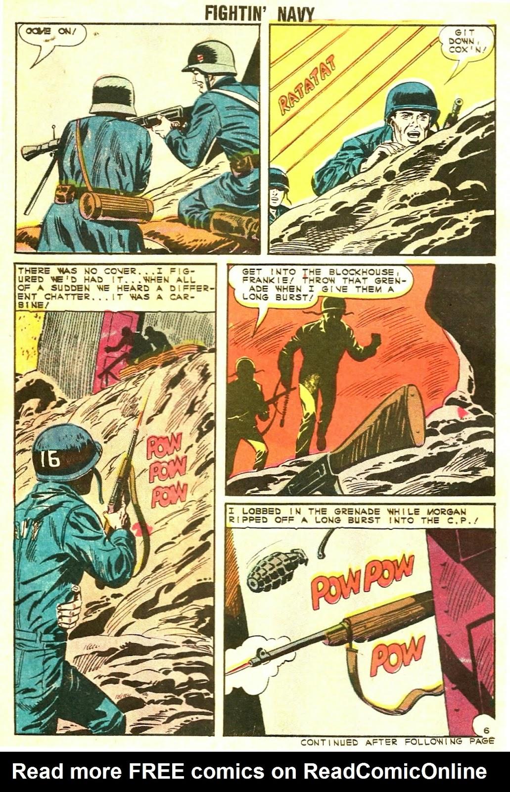 Read online Fightin' Navy comic -  Issue #117 - 30