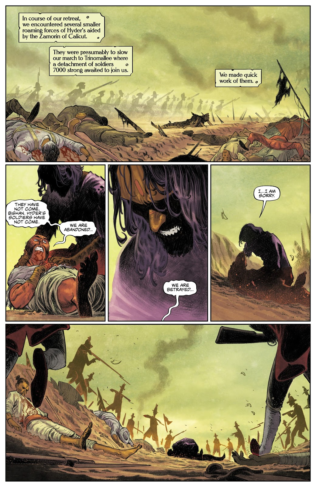 Read online These Savage Shores comic -  Issue #3 - 26