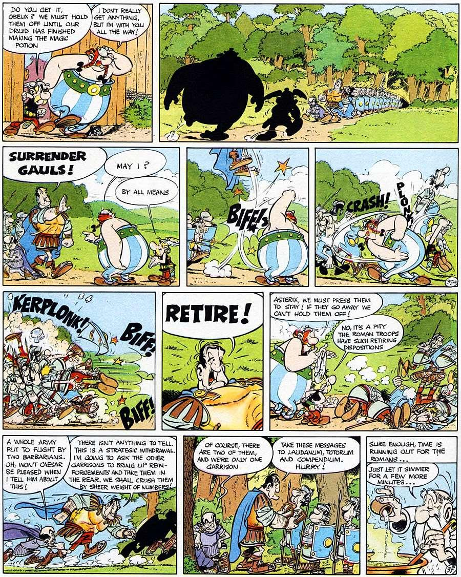 Read online Asterix comic -  Issue #15 - 40
